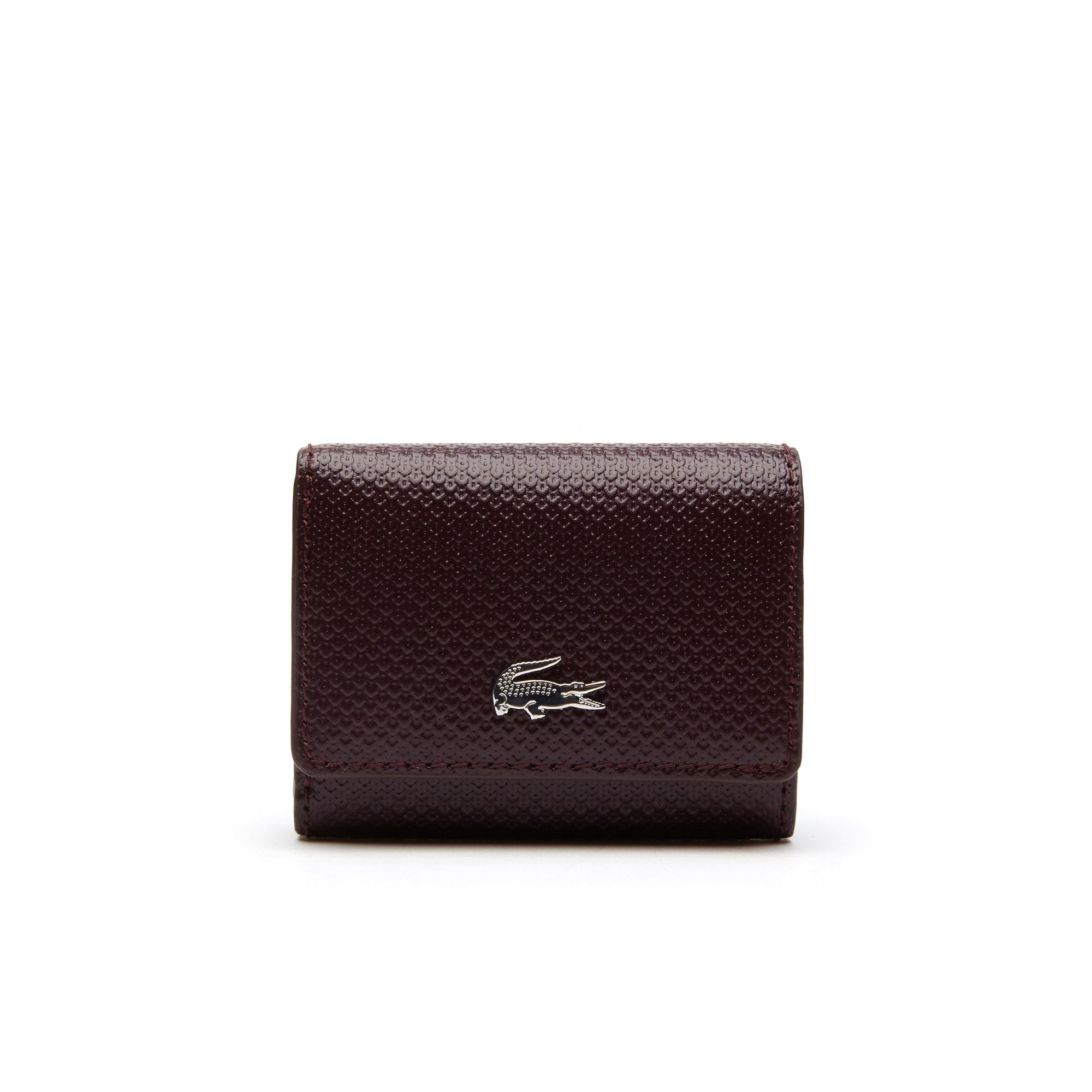Women's Chantaco Christmas Piqué Leather Wallet And Key Chain Set