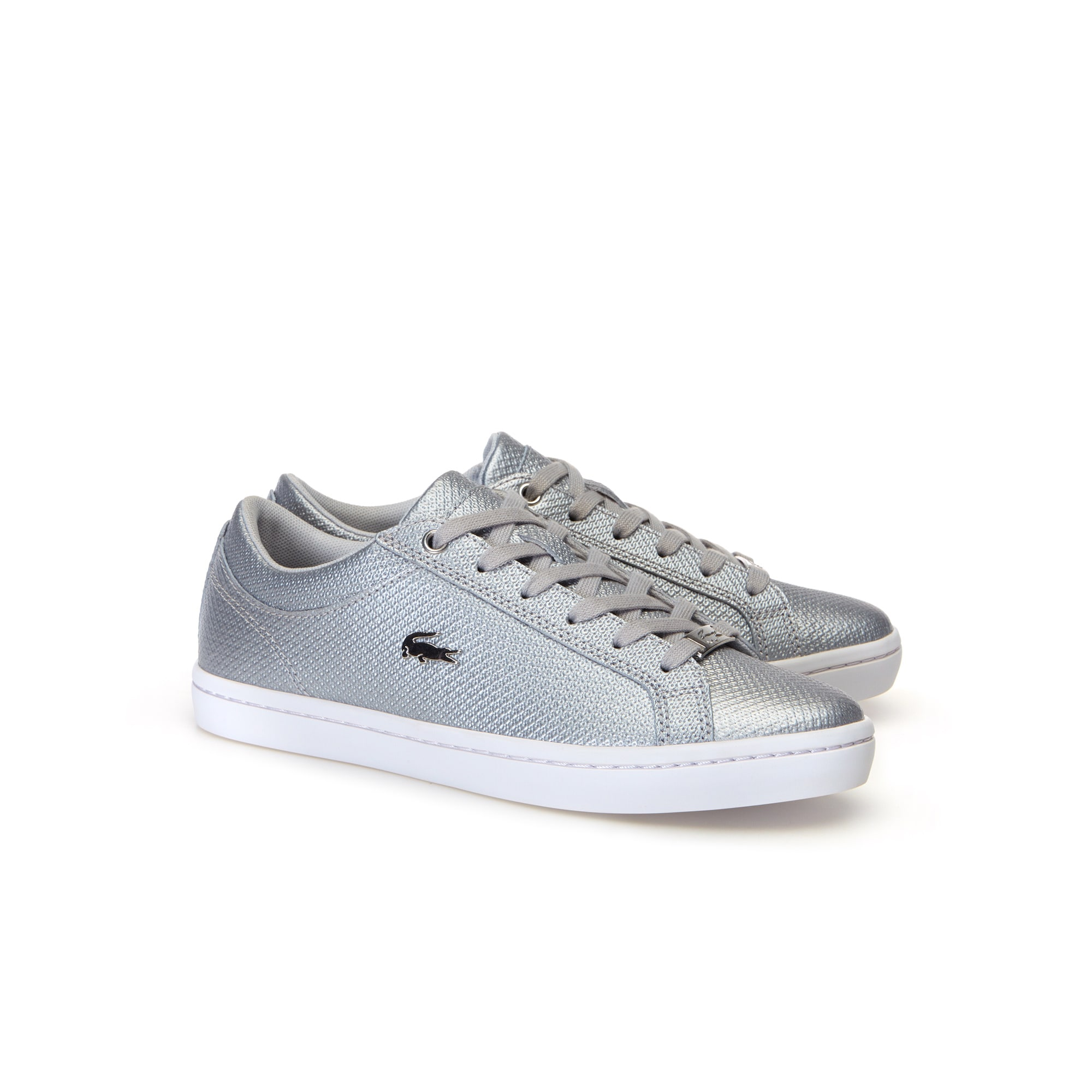 Women's Straightset Chantaco Leather Trainers
