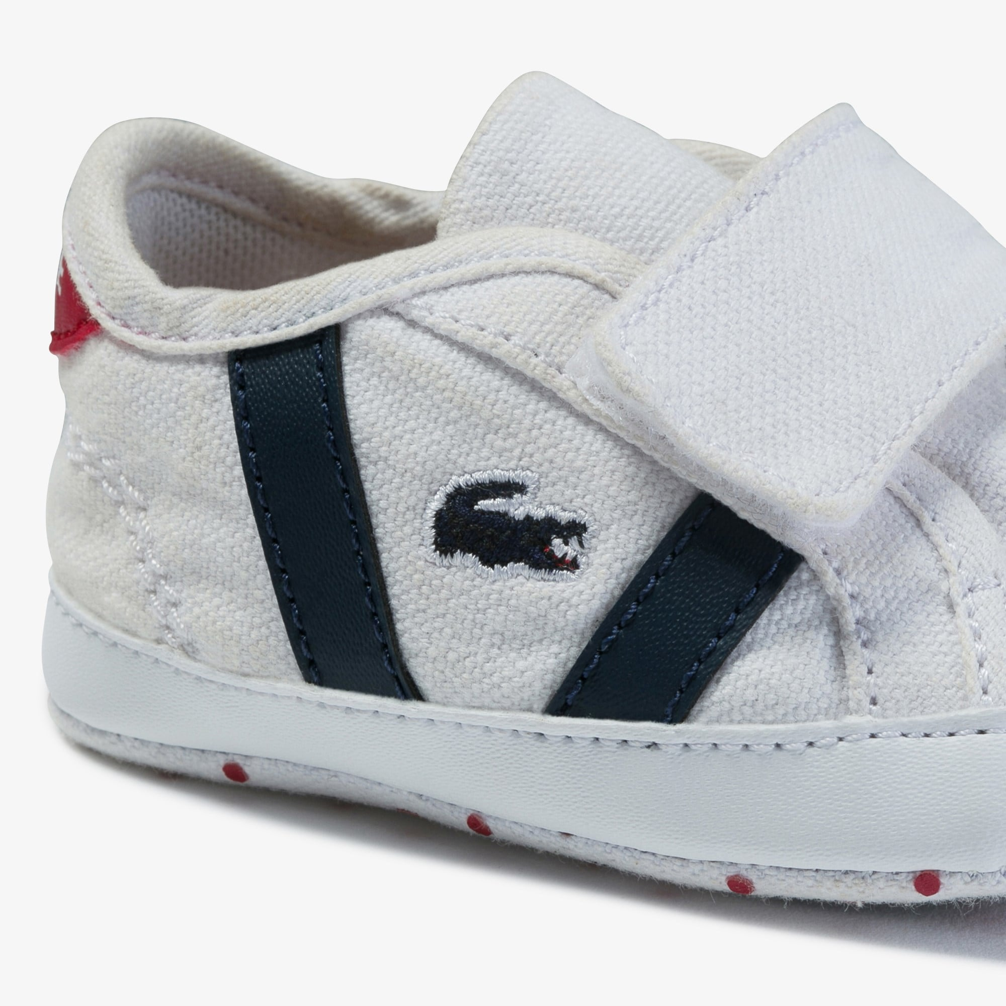 Babies' Sideline Crib Canvas and Synthetic Sneakers