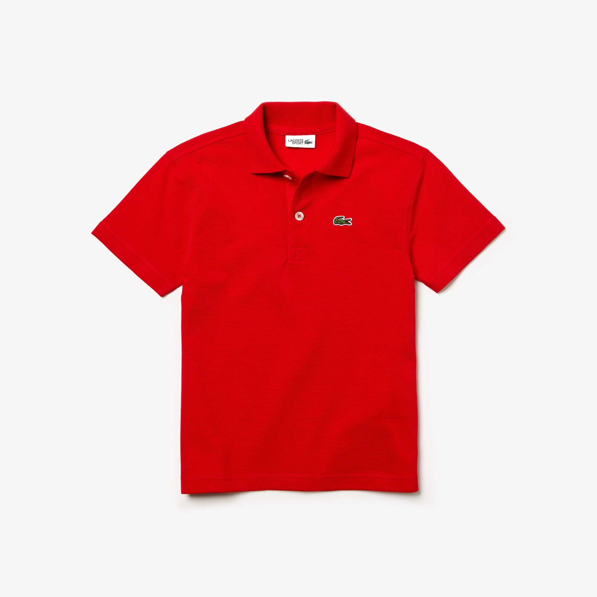 Boys' Lacoste SPORT Colourblock Ultra-Light Cotton Tennis Polo Shirt