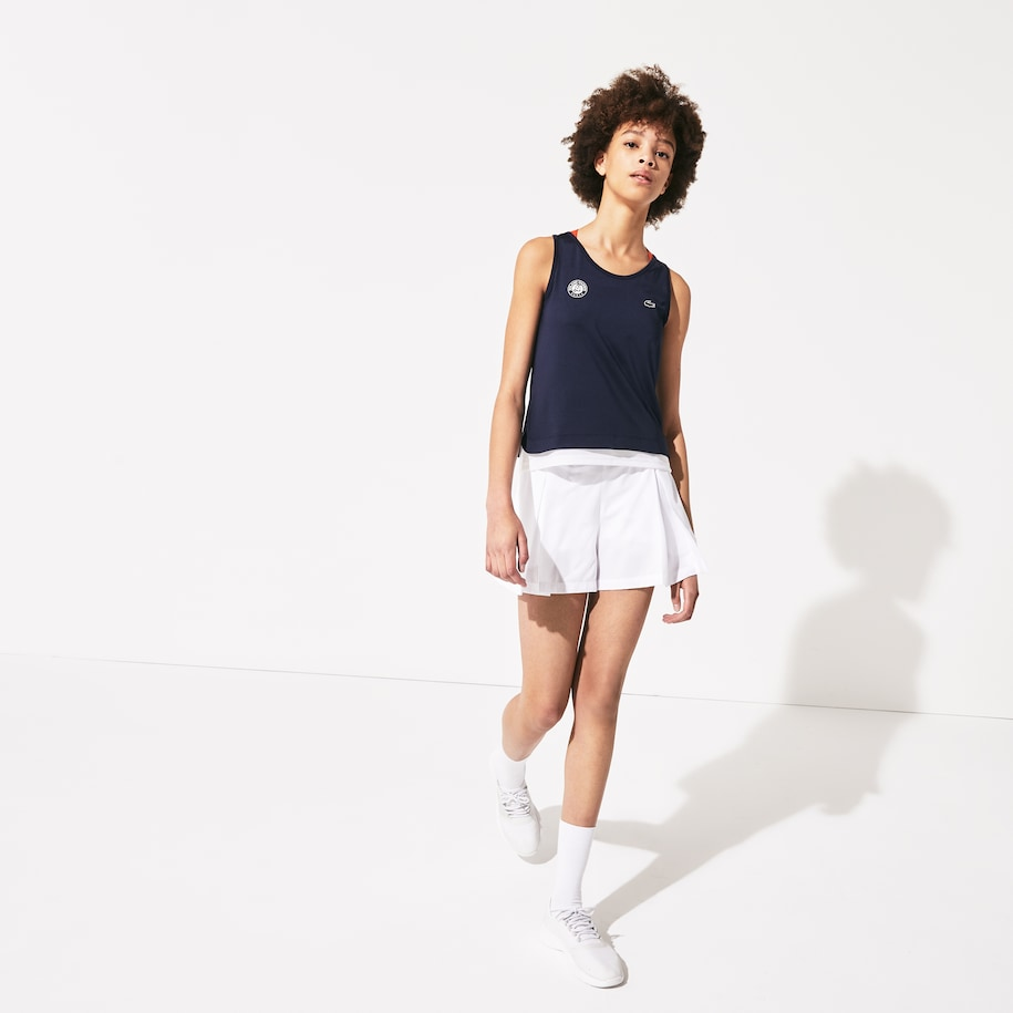 Women's Lacoste SPORT Roland Garros Technical Tank Top