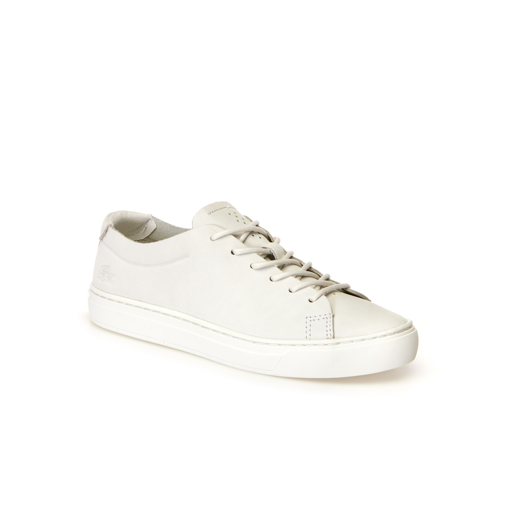 Women's L.12.12 Unlined Nubuck Leather Trainers