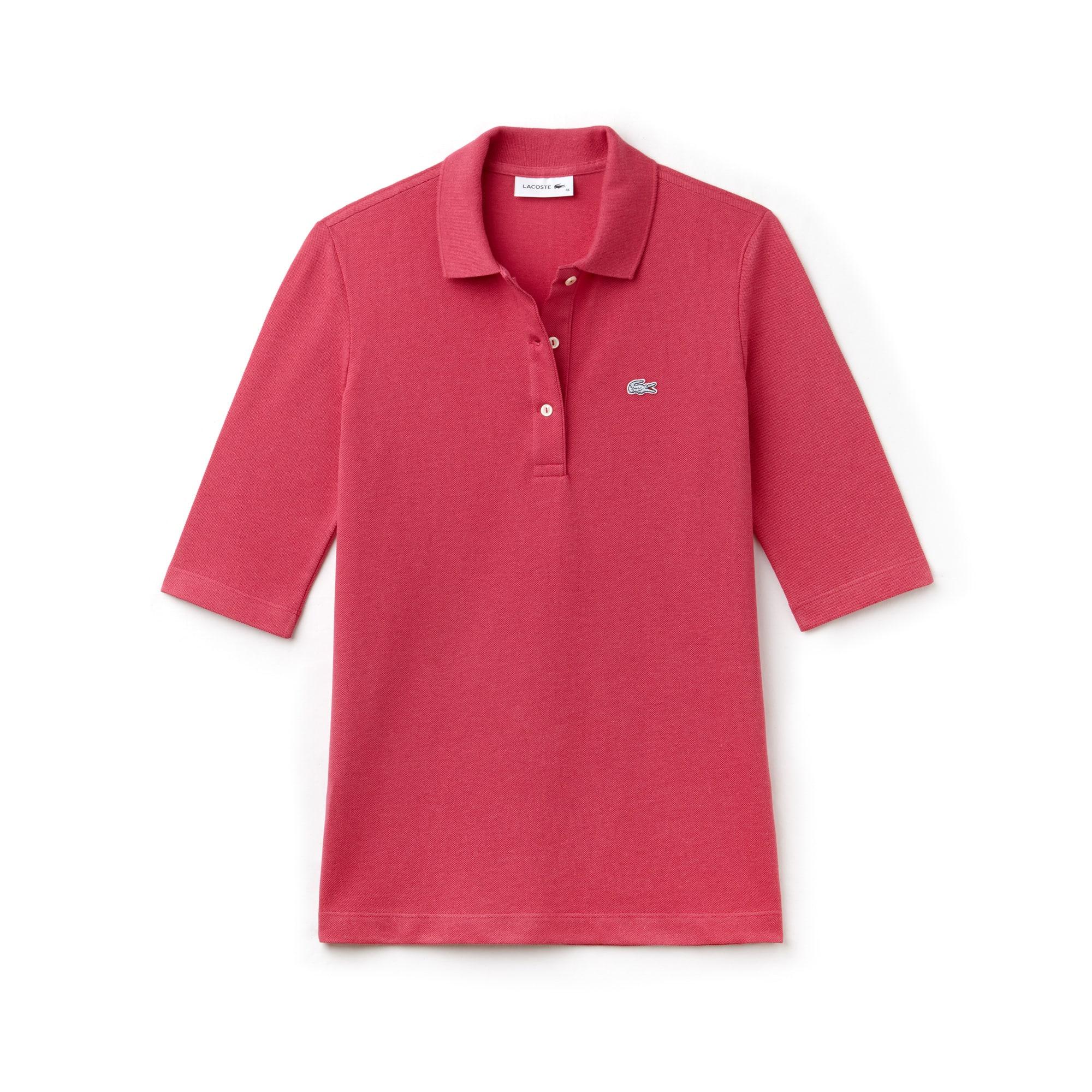 Women's Lacoste Classic Fit Petit Piqué Polo Shirt