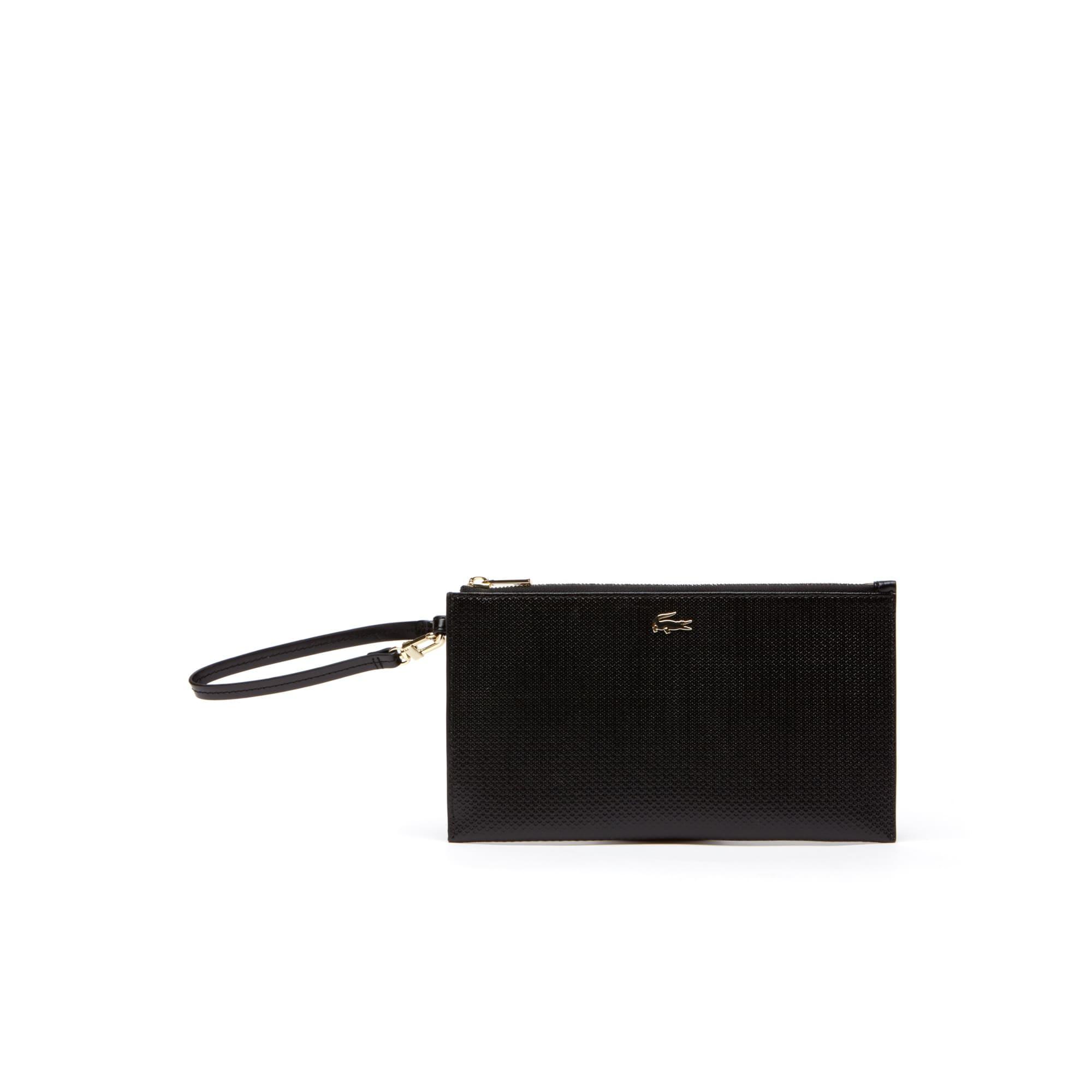 Women's Chantaco Piqué Leather Zip Pouch