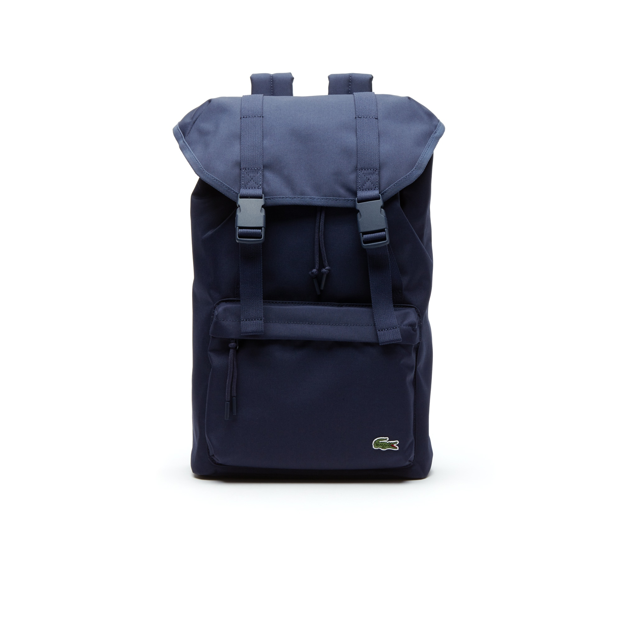 Men's Néocroc Monochrome Canvas Flap Backpack