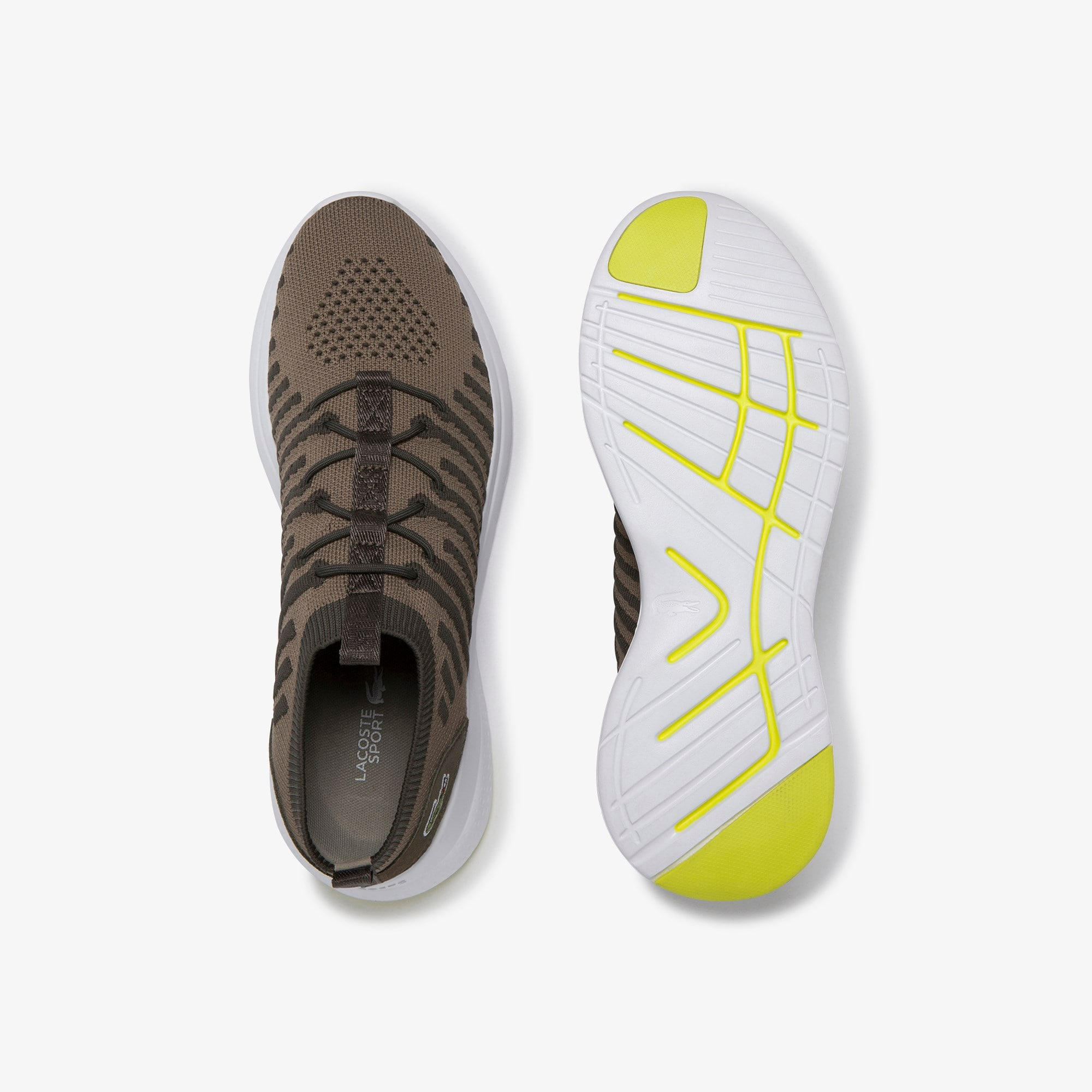 Men's LT Fit-Flex Colour-pop Textile and Suede Sneakers