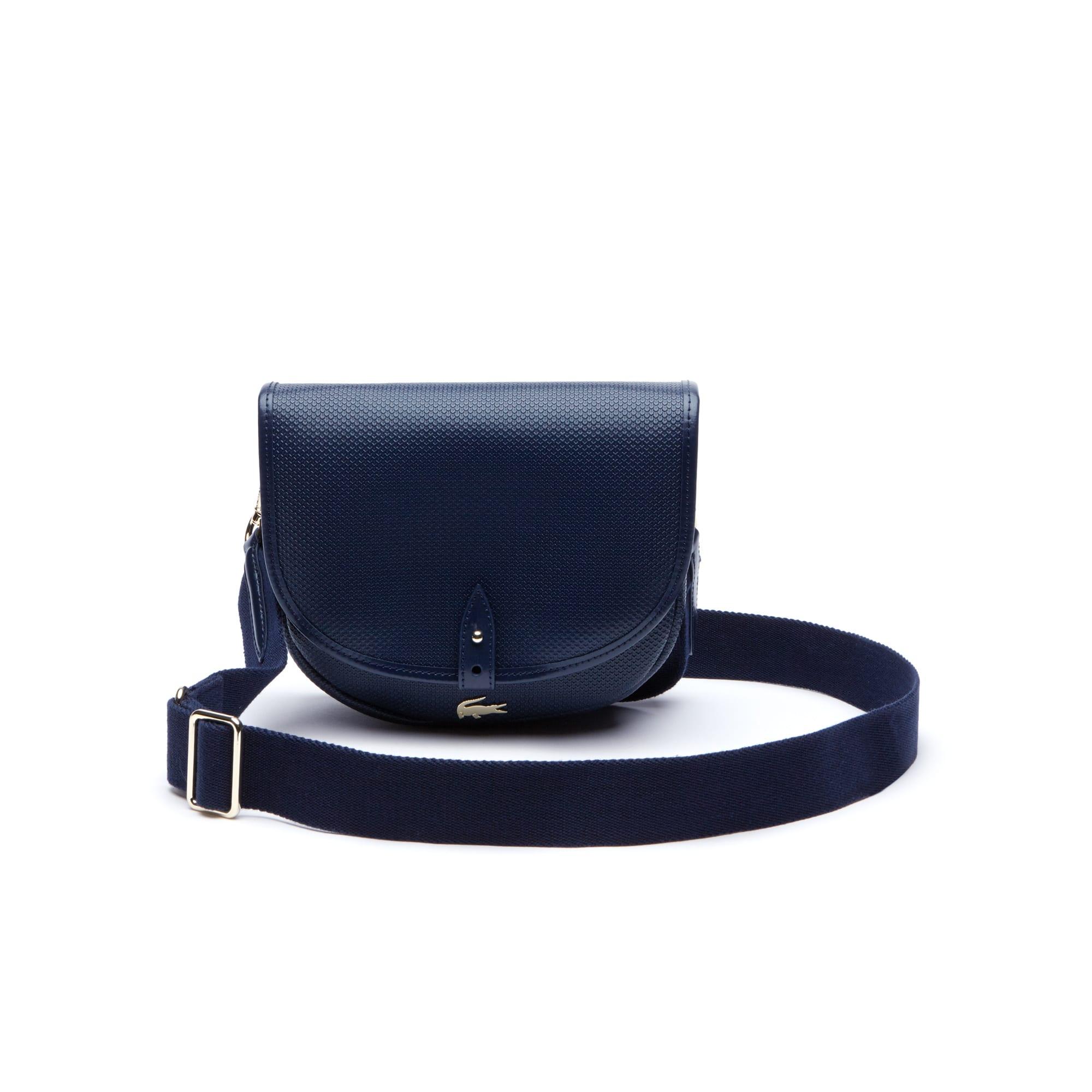 Women's Chantaco Piqué Leather Flap Crossover Bag