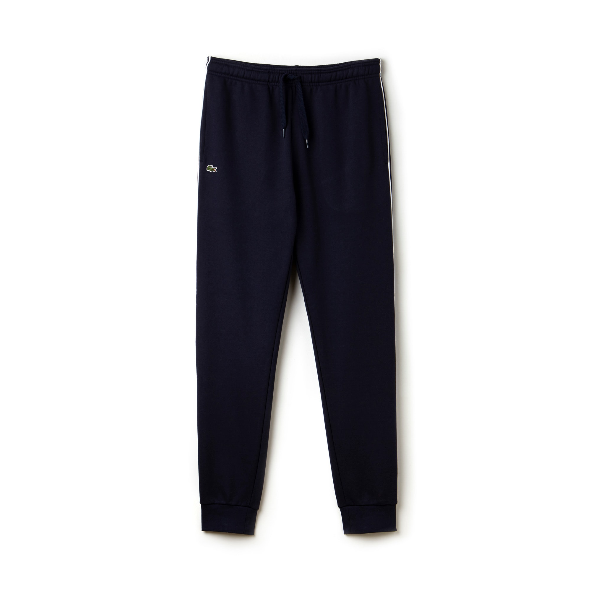 Men's Lacoste SPORT Tennis Piped Fleece Trackpants
