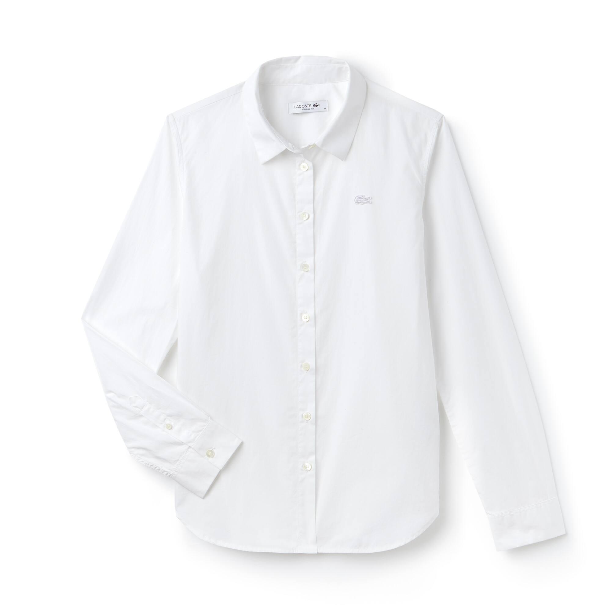 Women's Regular Fit Cotton Poplin Shirt