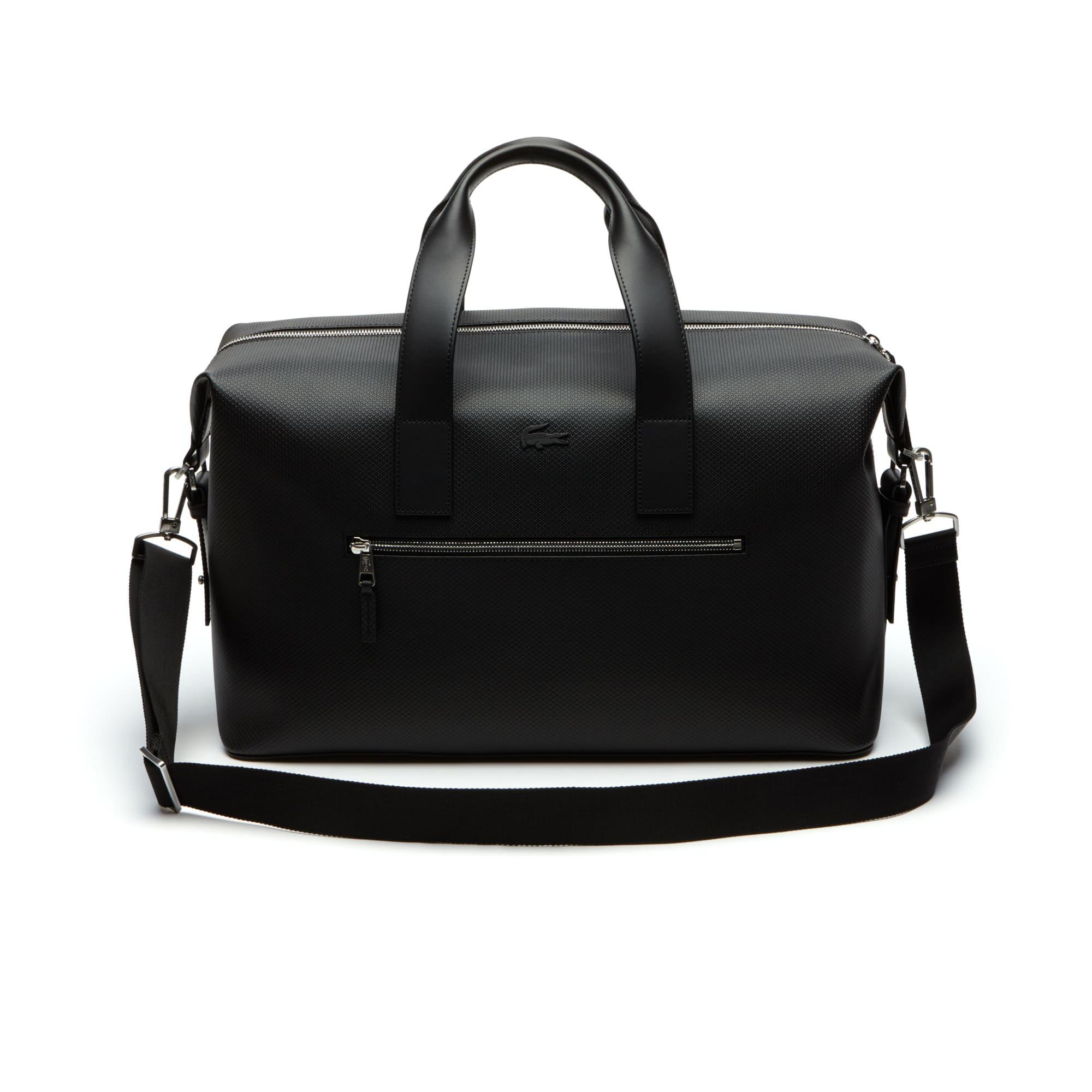 Men's Chantaco Matte Piqué Leather Weekend Bag