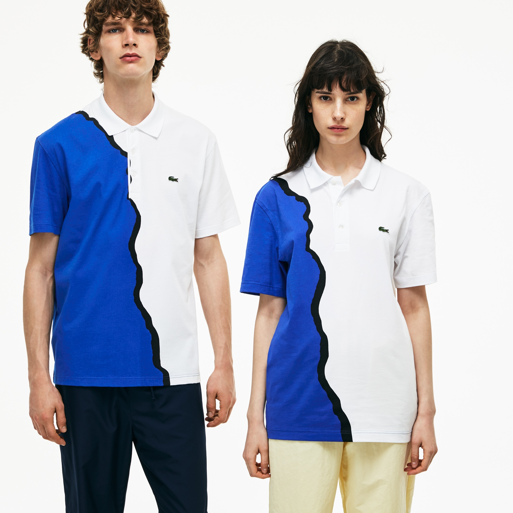 Unisex 1990s revival Lacoste 85th Anniversary Limited Edition Jersey Polo Shirt