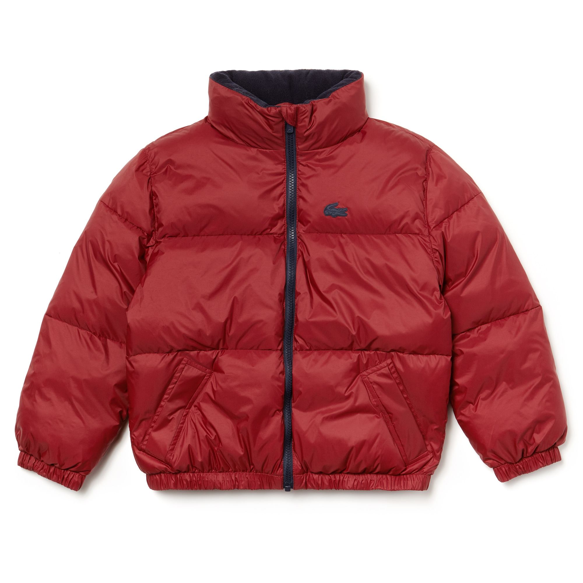 Boys' Invisible Hood Quilted Jacket