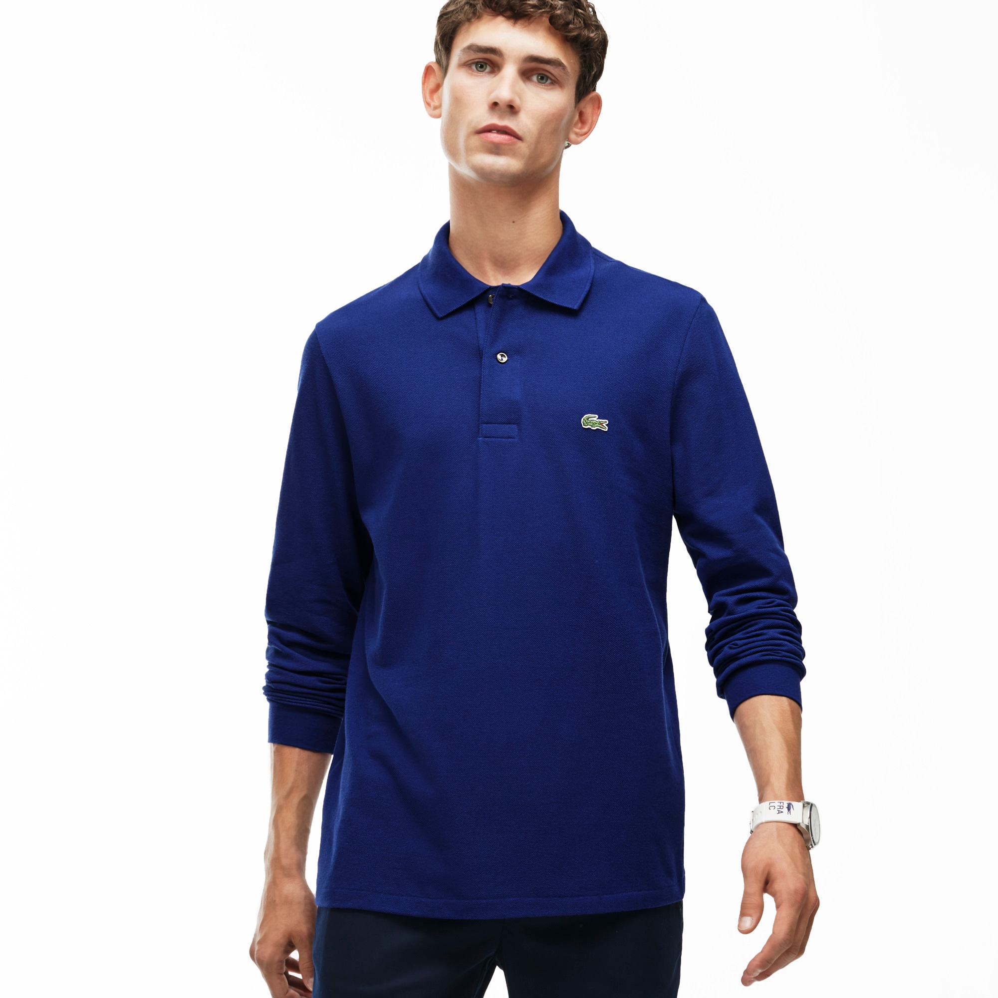 f78b4c66f Long-sleeve Lacoste L.12.12 Polo Shirt ...