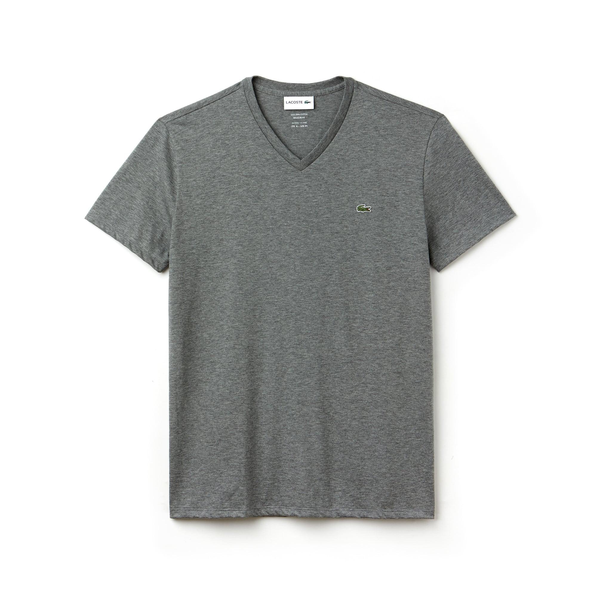 Men's Crew Neck Lacoste Jersey Pima T-shirt