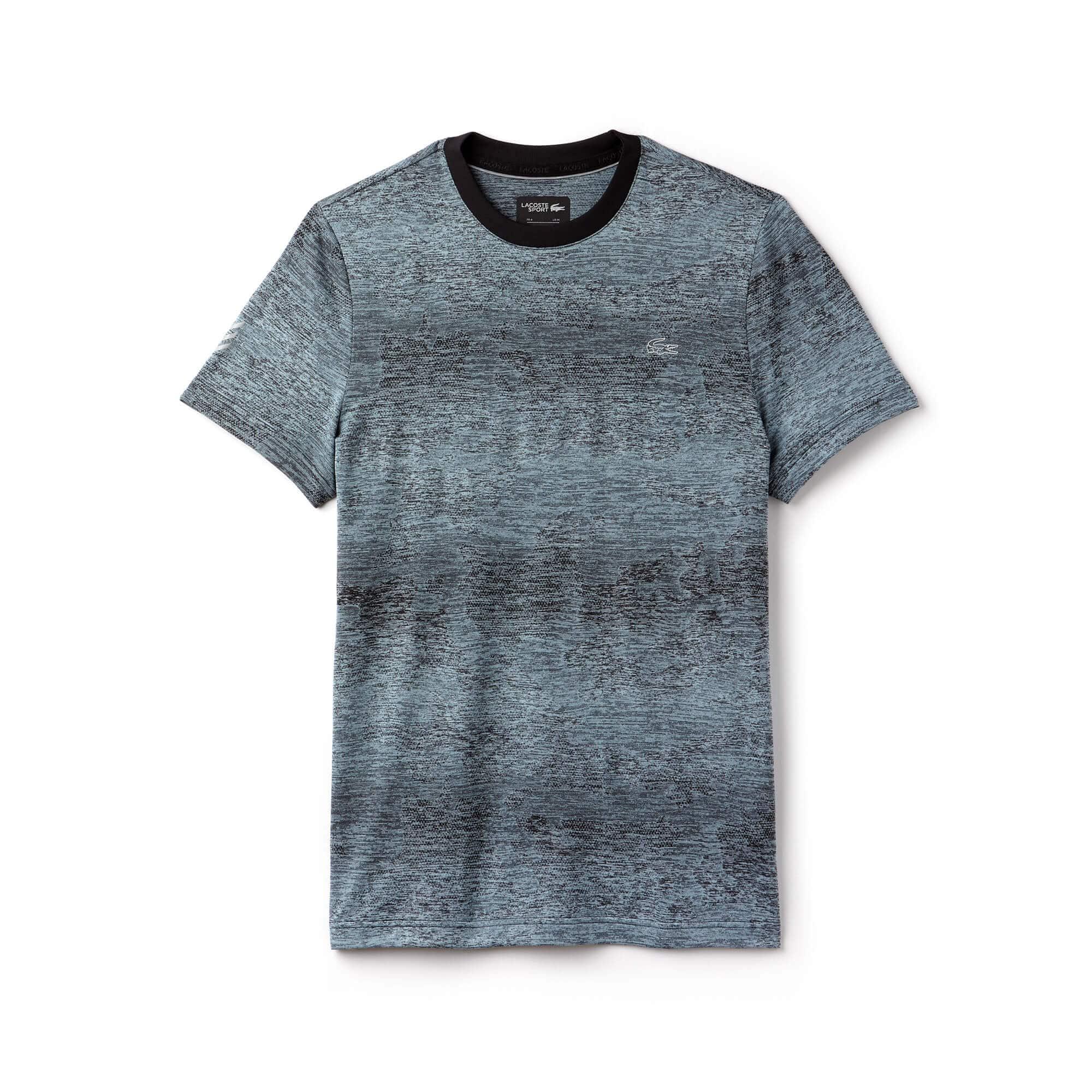 Men's Lacoste SPORT Print Technical Jersey Tennis T-shirt