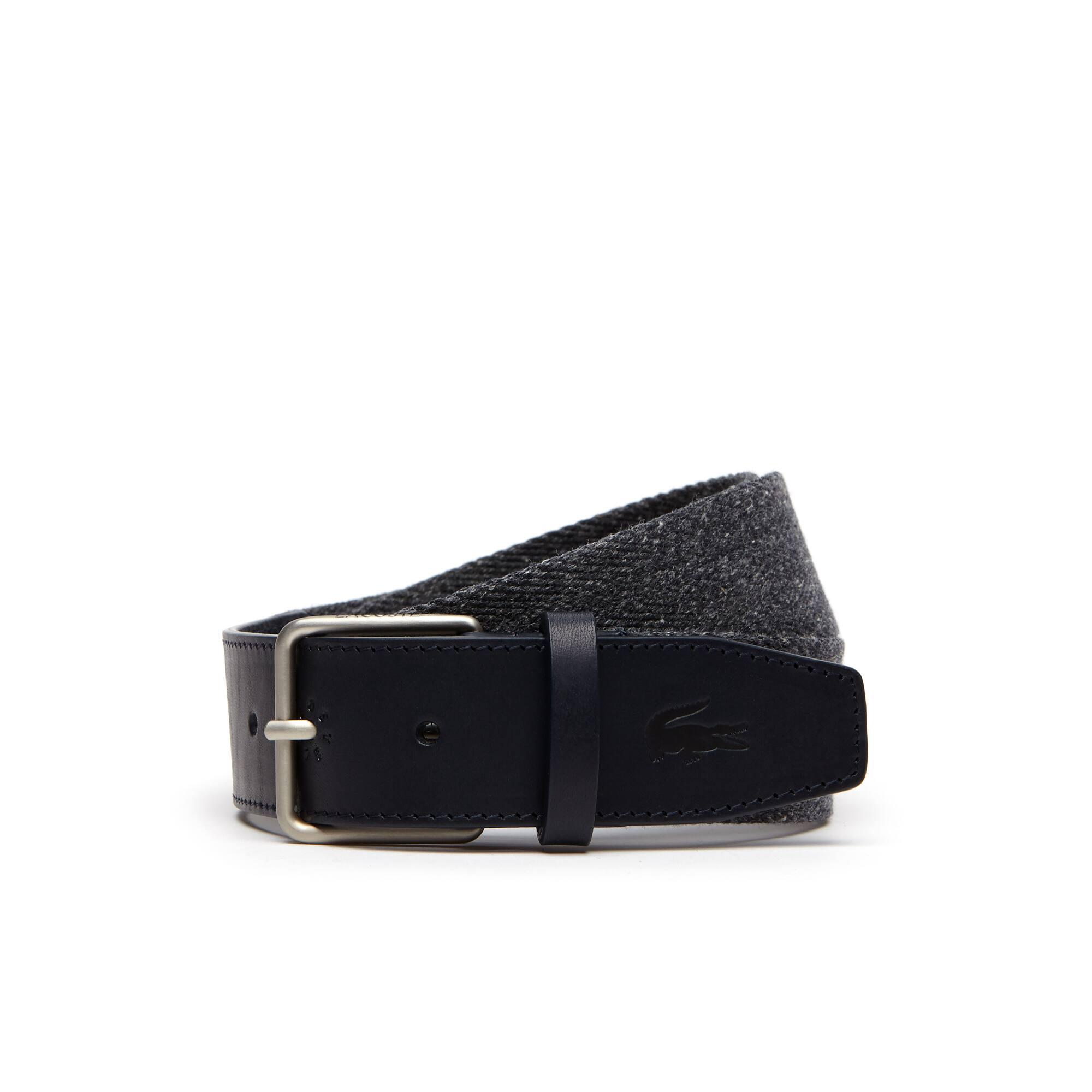 men's belts | men's leather goods | lacoste