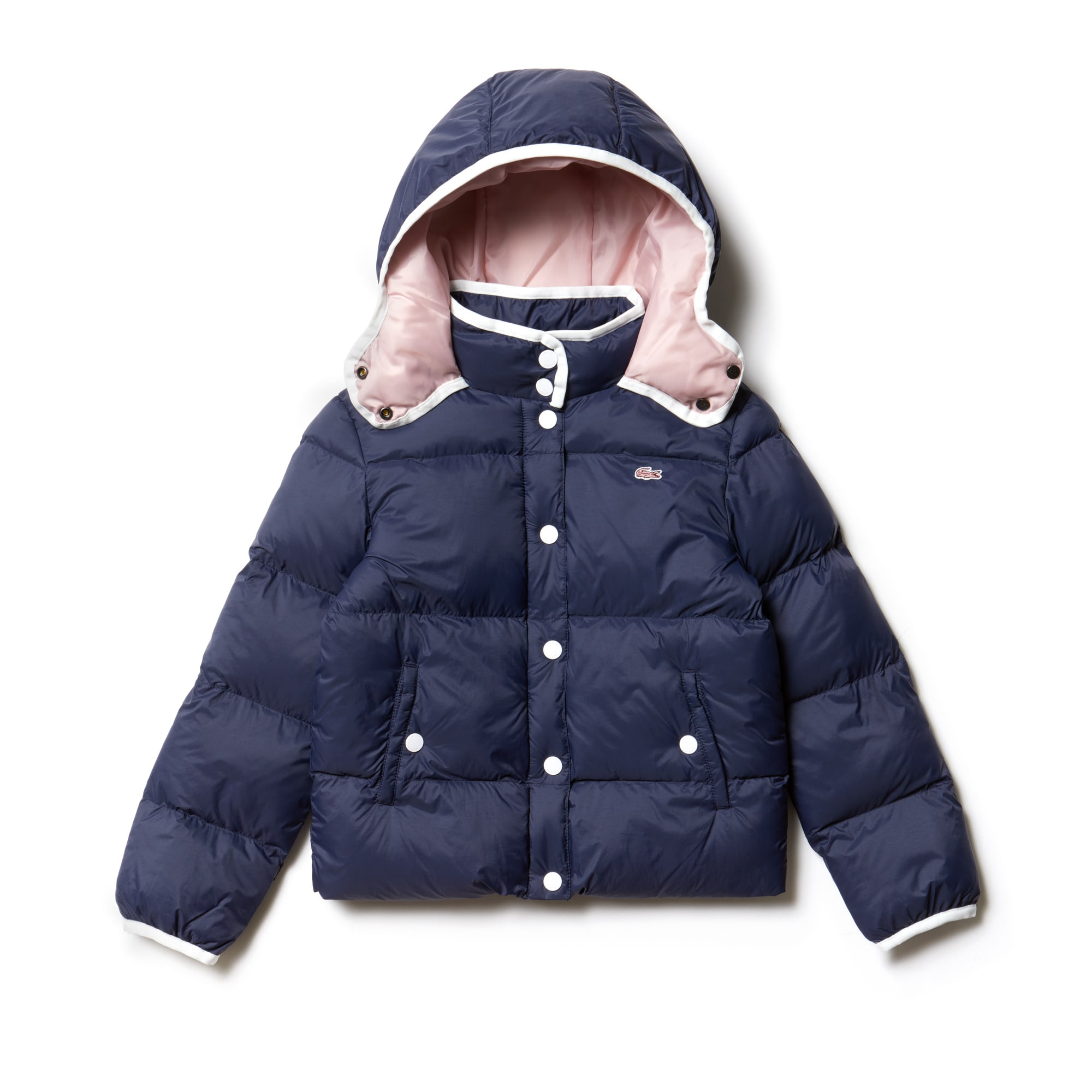 Girls' Hooded Down Jacket