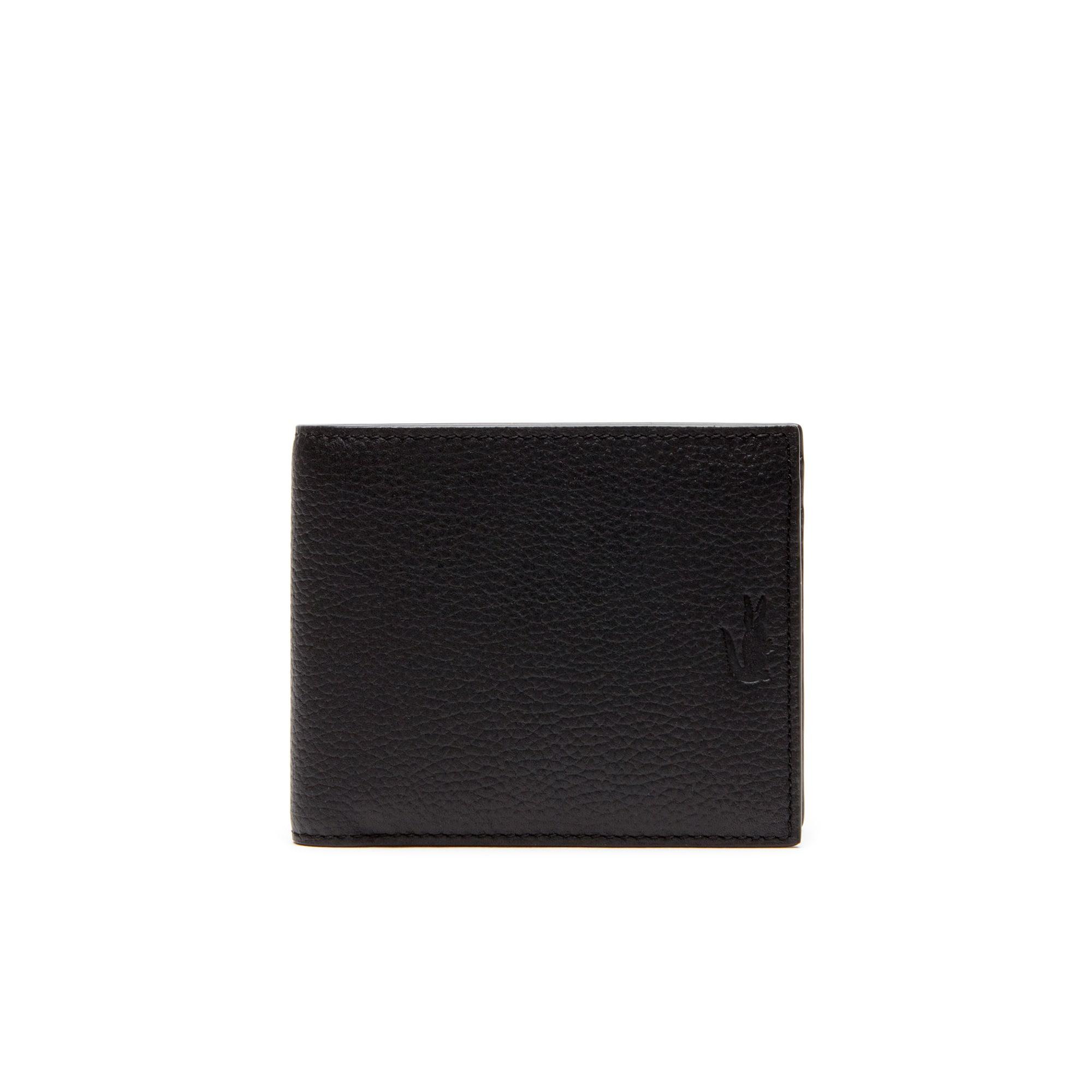 Men's Rafael Leather Three-Card Wallet - Large Format