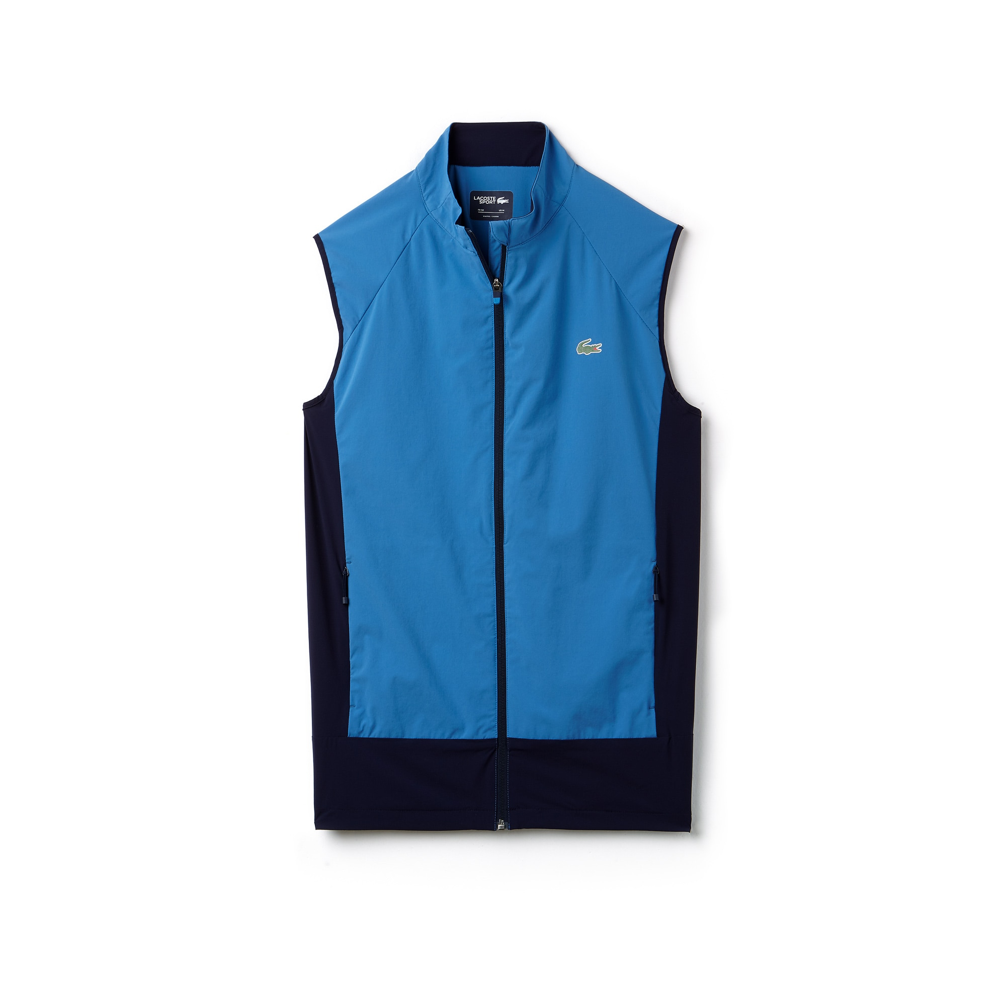 Men's Lacoste SPORT Colorblock Technical Taffeta Golf Quilted Vest