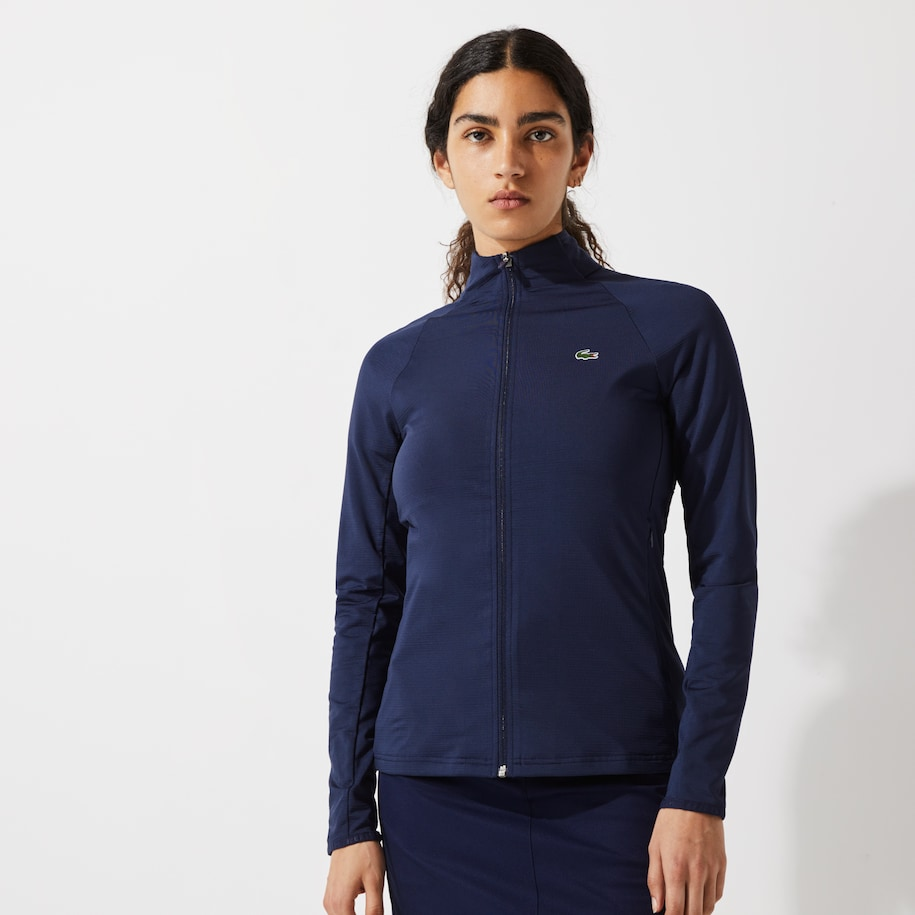 Women's Lacoste SPORT Breathable Ergonomic Zip Golf Jacket