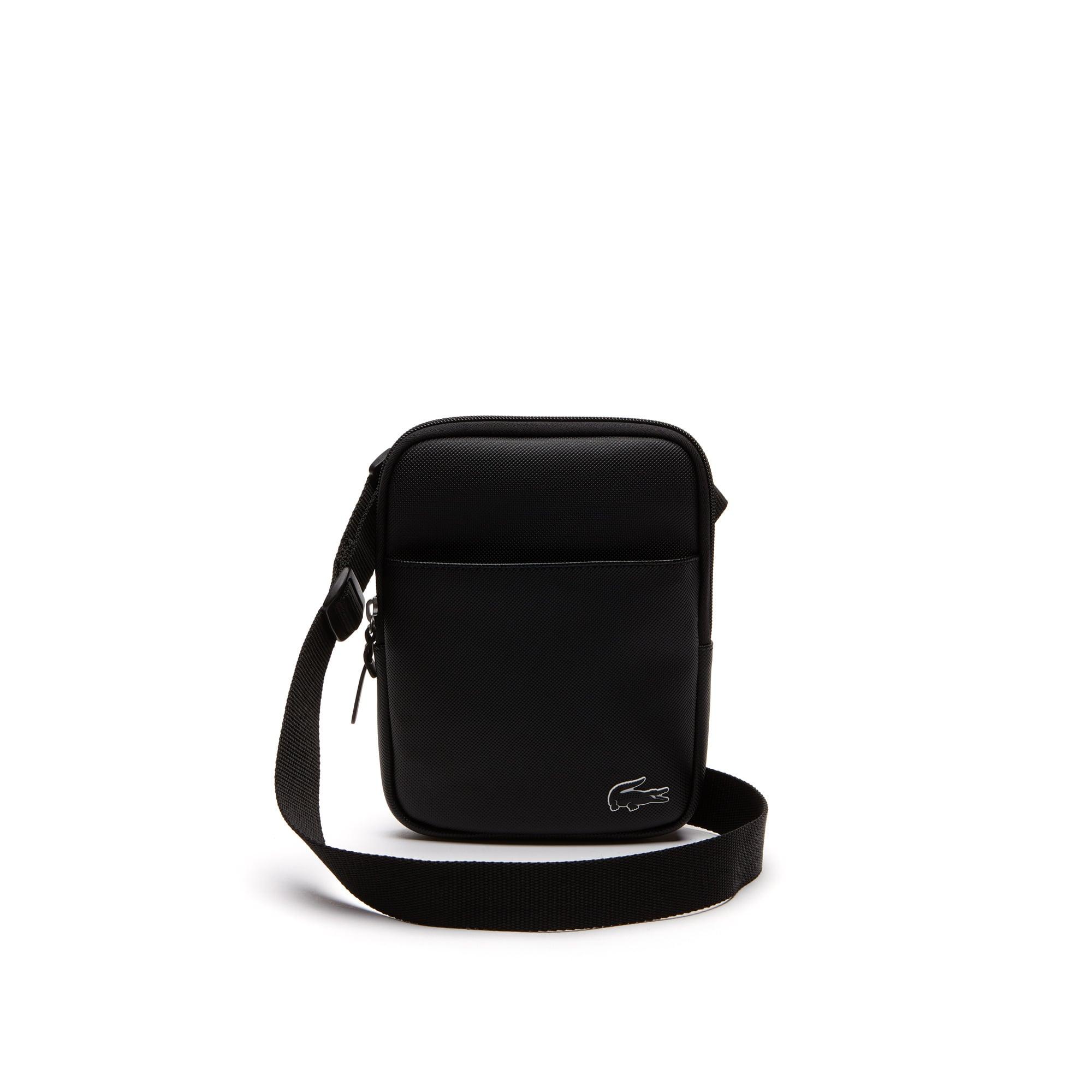 Men's L.12.12 Concept Petit Piqué Flat Crossover Bag