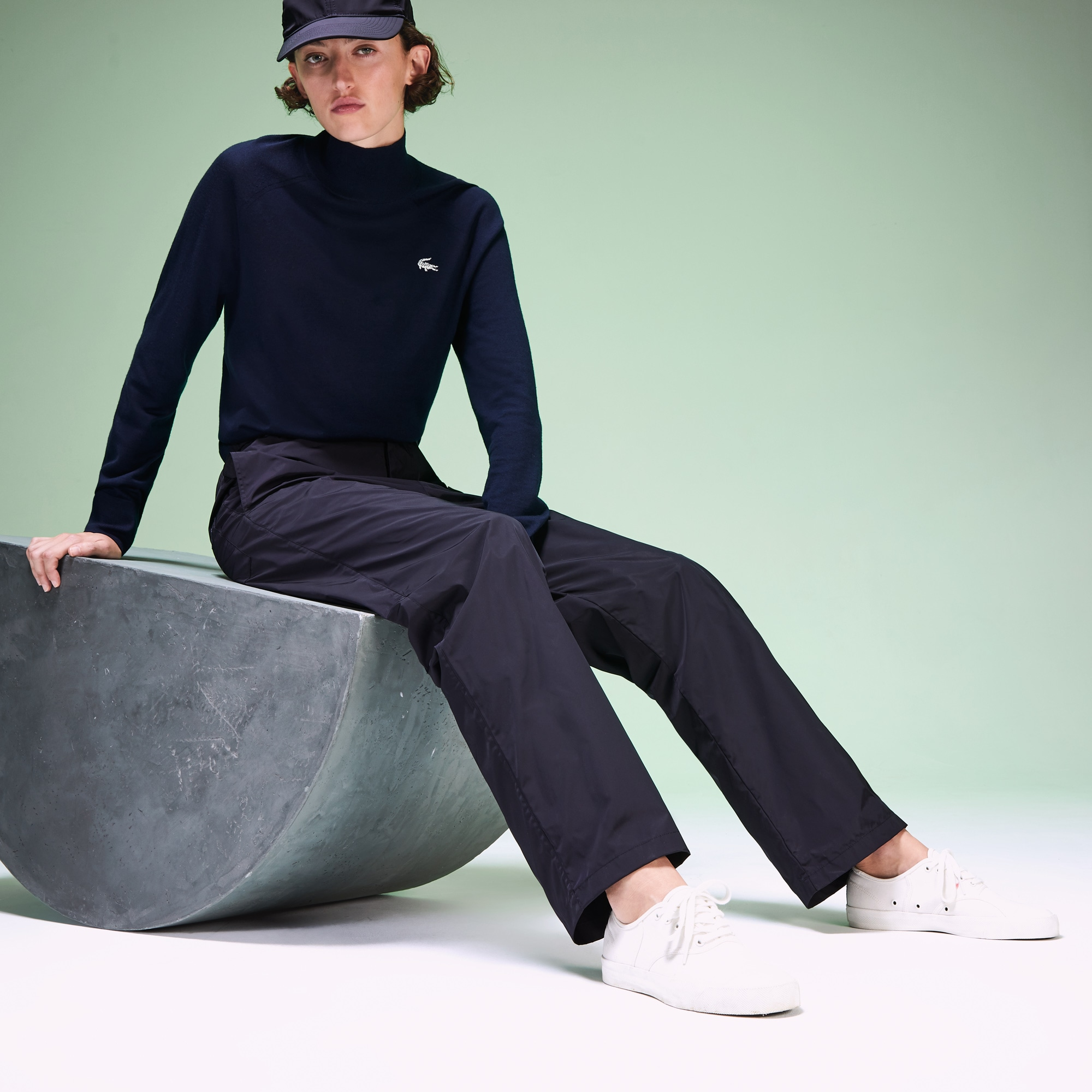 Unisex Fashion Show Turtleneck Wool Sweater