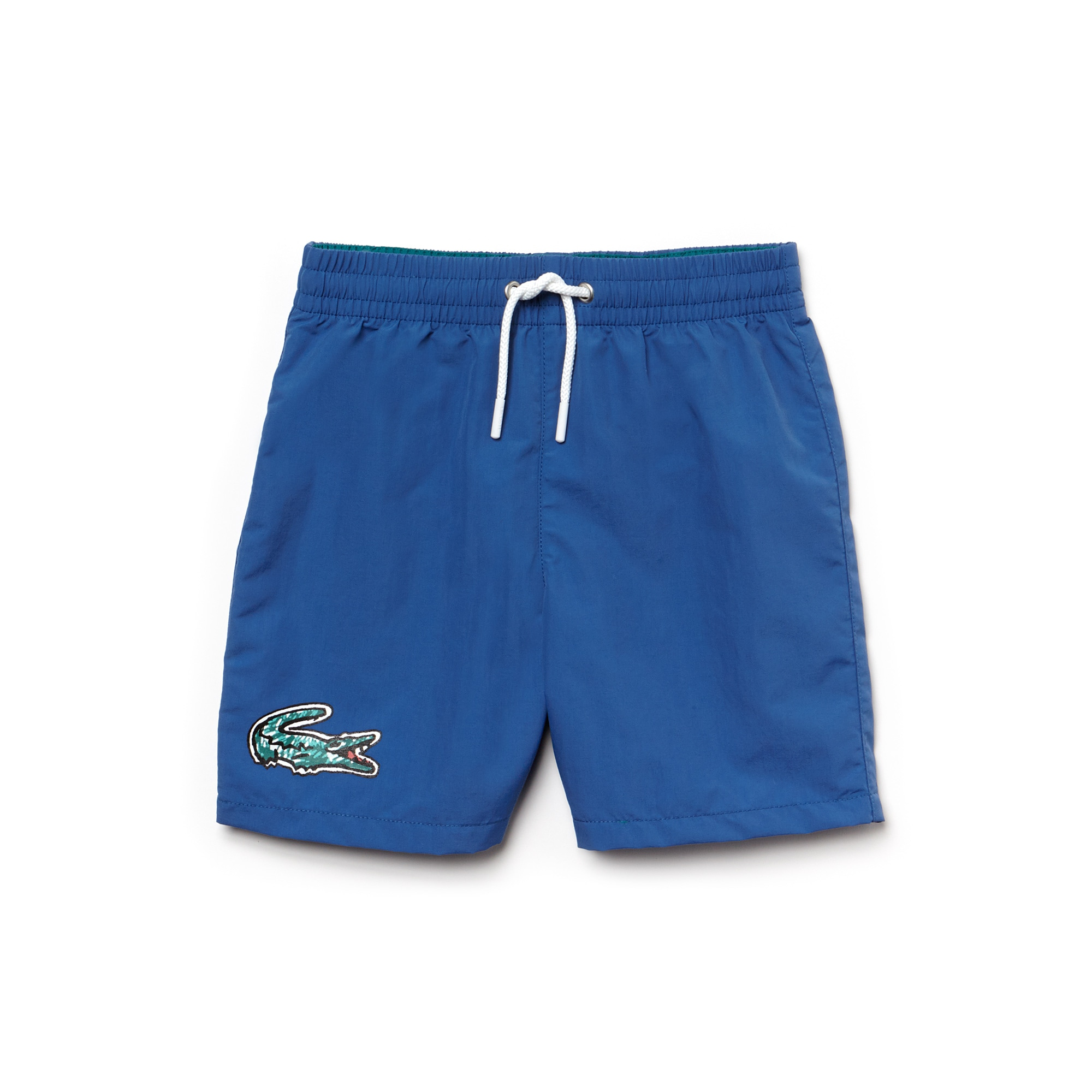 Boys' Oversized Crocodile Canvas Swimming Trunks