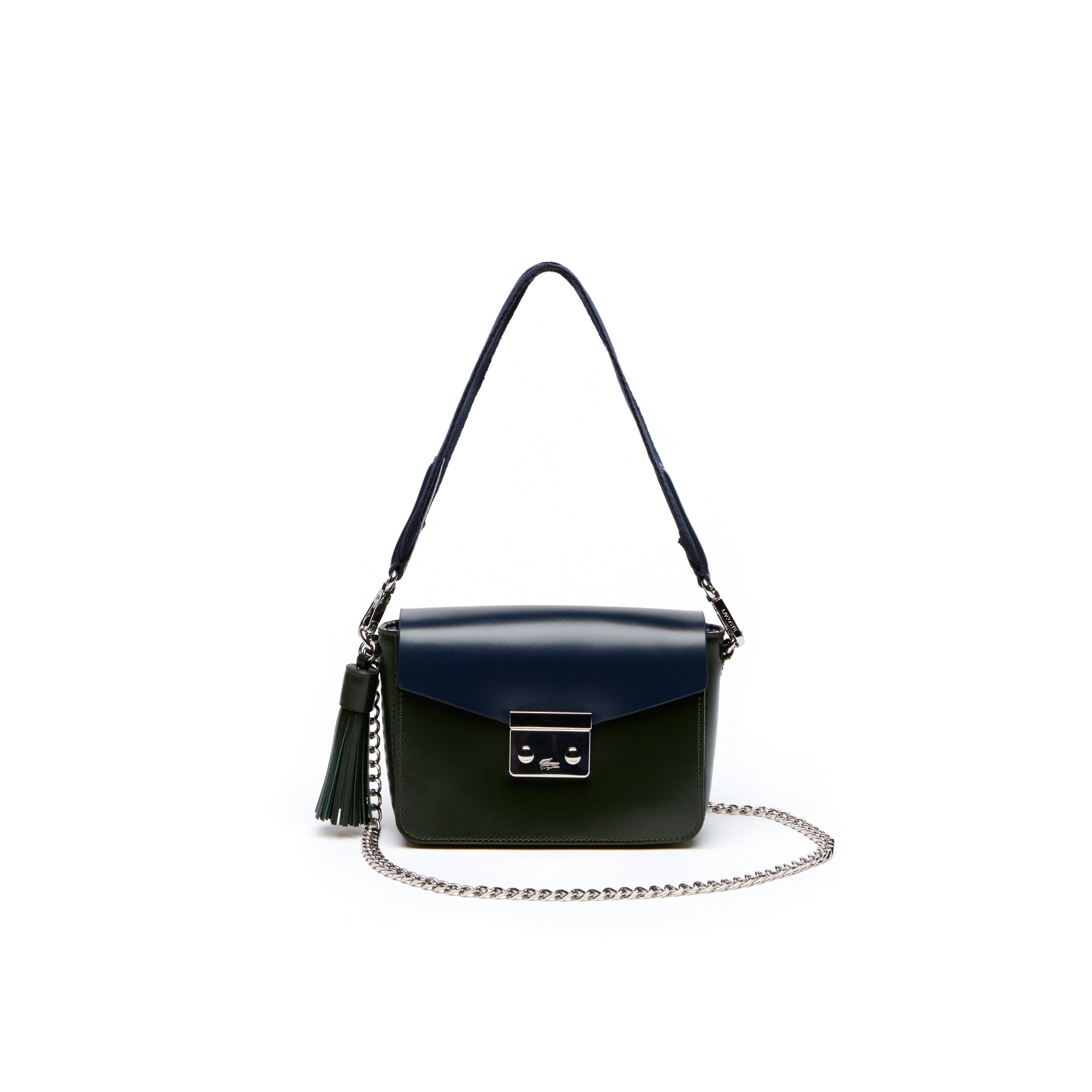 Women's Live Mate Coated Leather Square Shoulder Bag