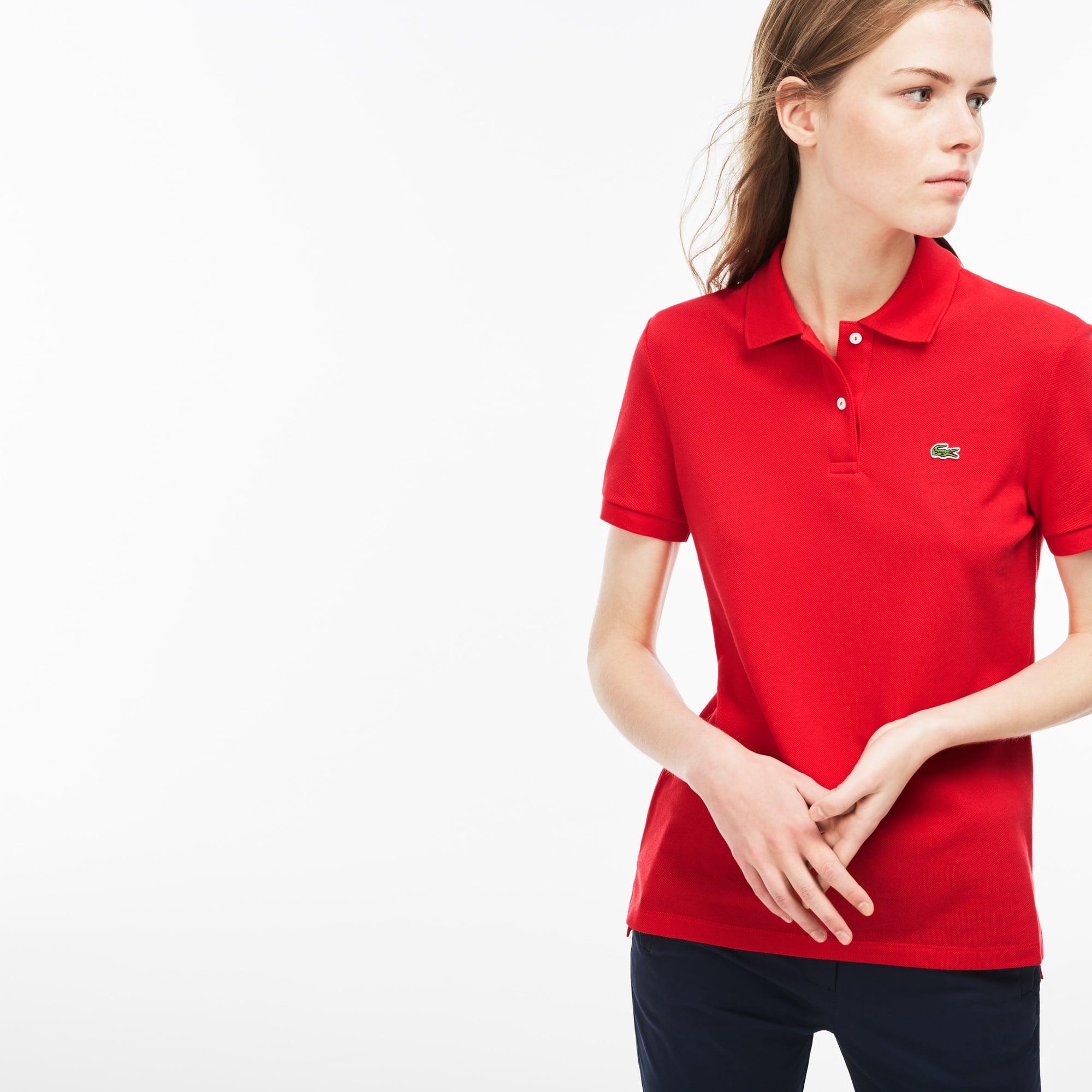 Women's Lacoste Classic Fit Soft Cotton Petit Piqué Polo Shirt