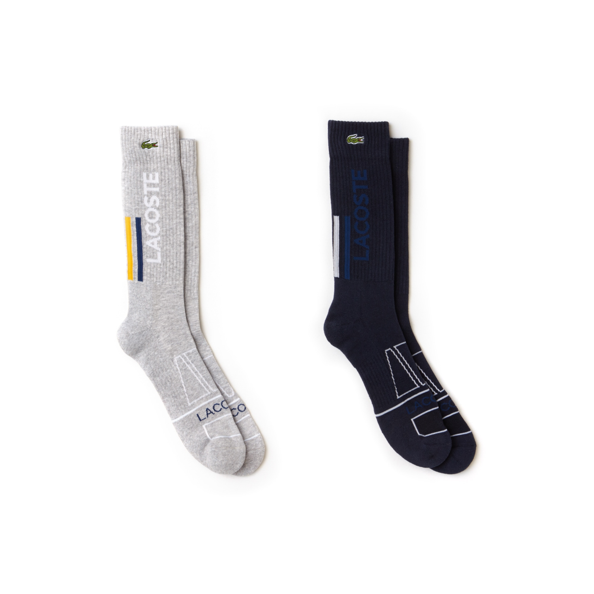 Men's Lacoste SPORT Lettering Stretch Jersey Tennis Socks