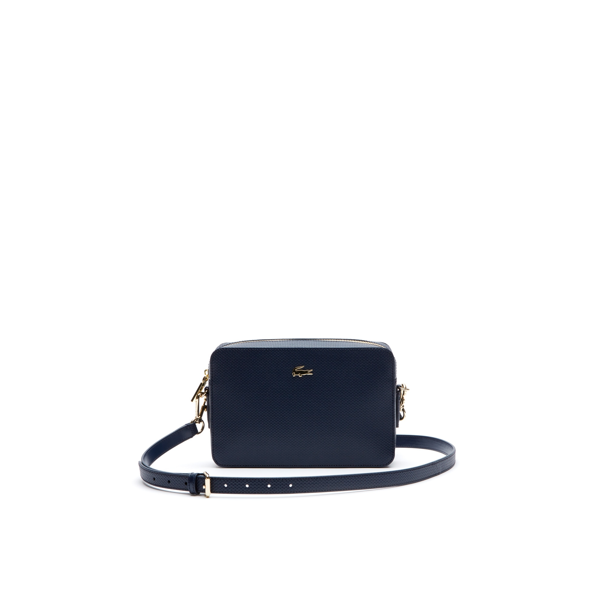 Women's Chantaco Piqué Leather Square Shoulder Bag