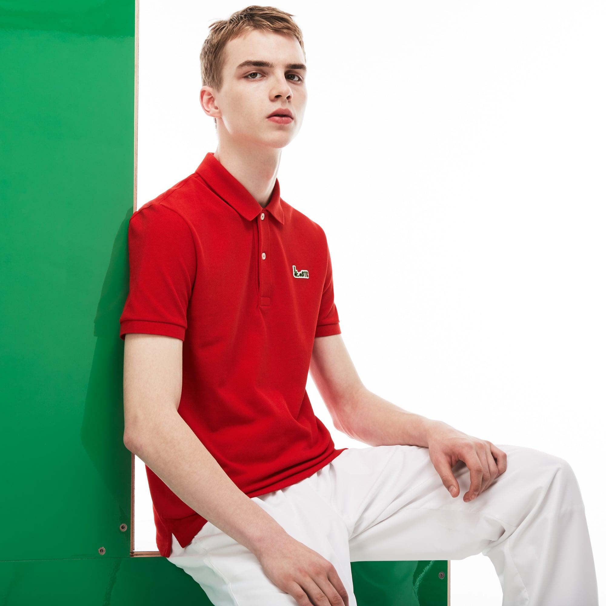 Men's Lacoste M/M Collab Slim Fit Thick Cotton Piqué Polo