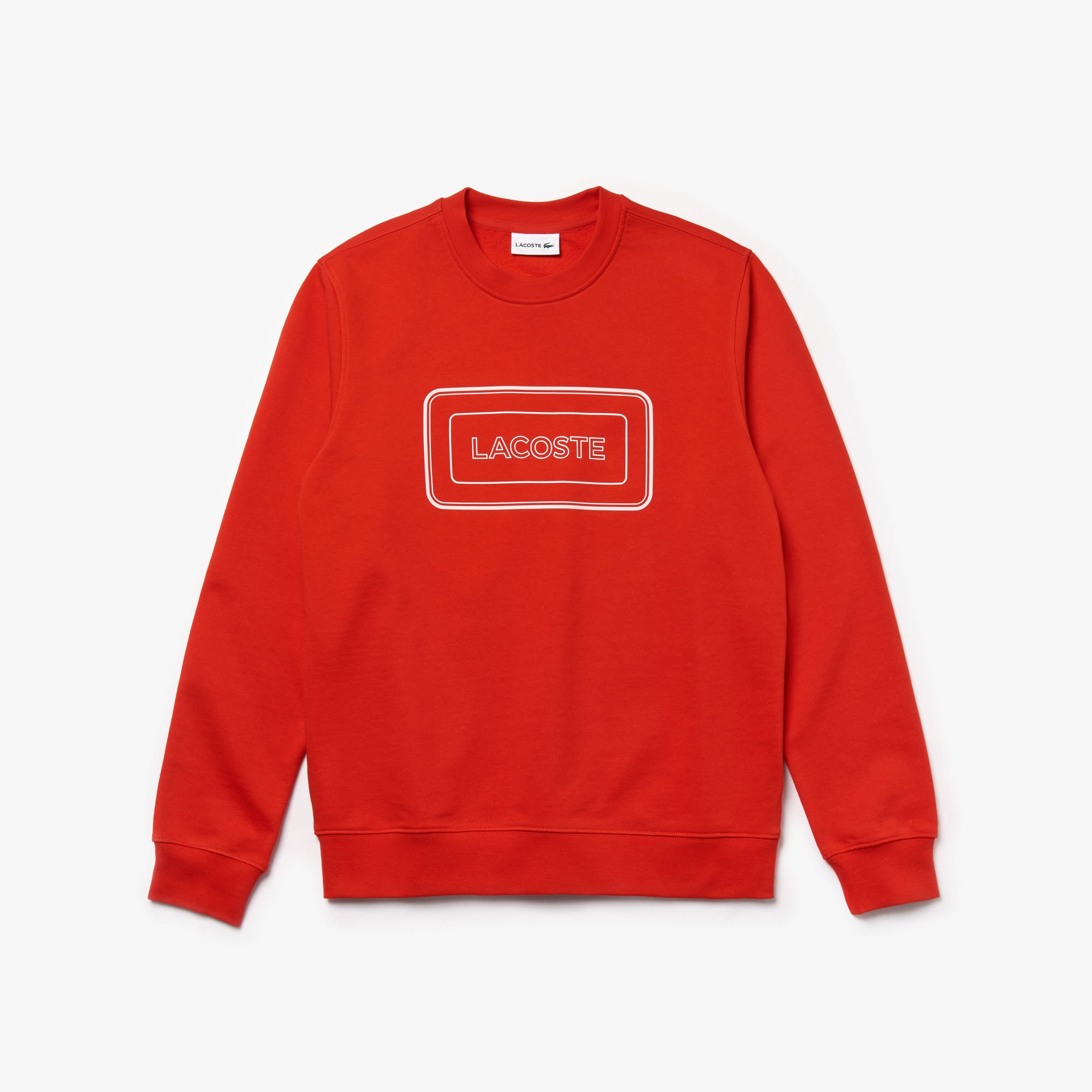 Men's Reflective Branding Crew Neck Sweatshirt