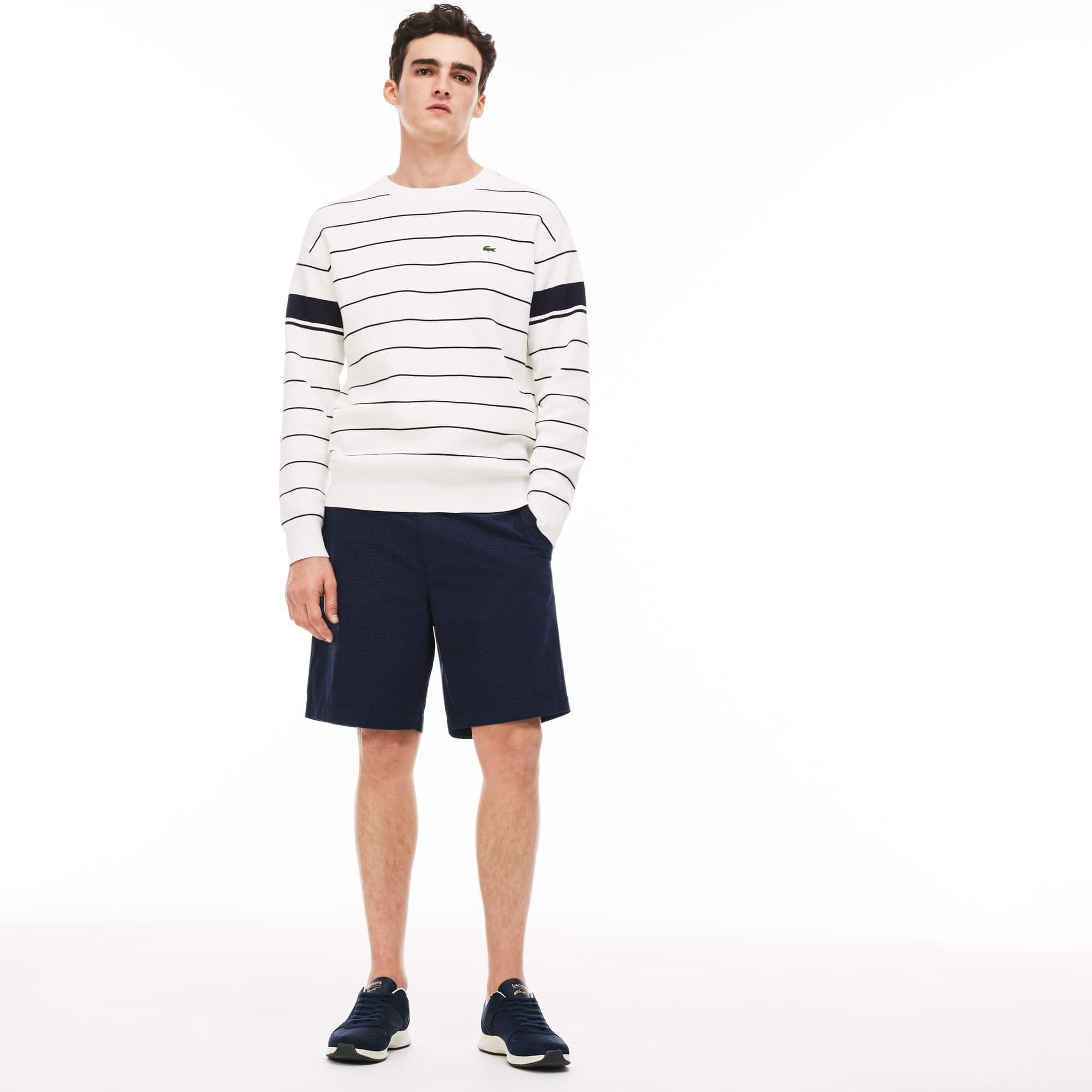 Men's Regular Fit Check Cotton Twill Shirt