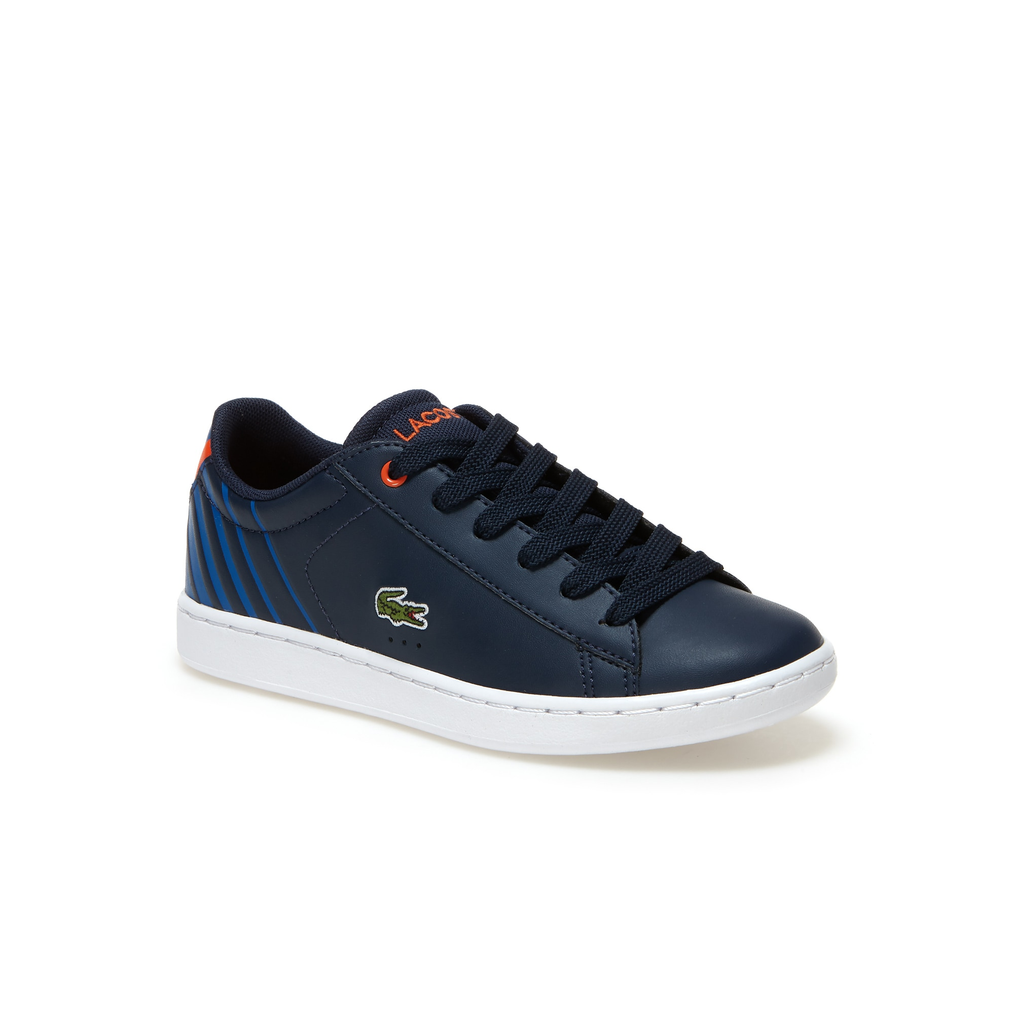 Childrens' Carnaby Evo Leather-look Trainers with Breathable mesh linings
