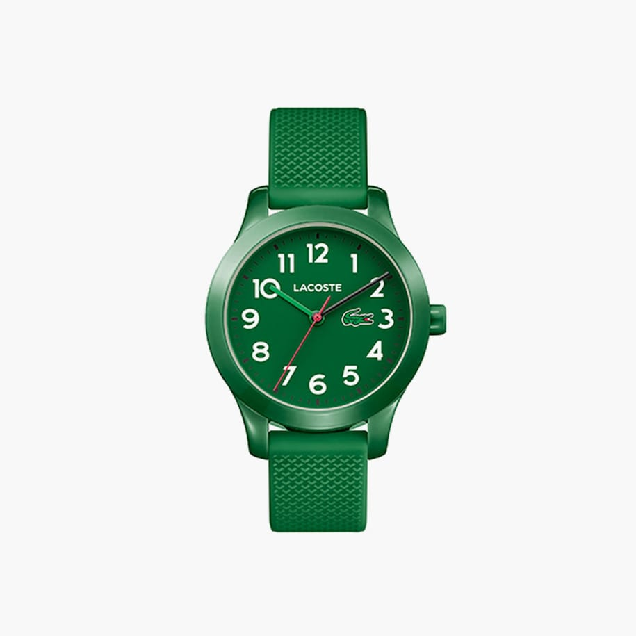 Kids Lacoste.12.12 Watch With Green Silicone Strap
