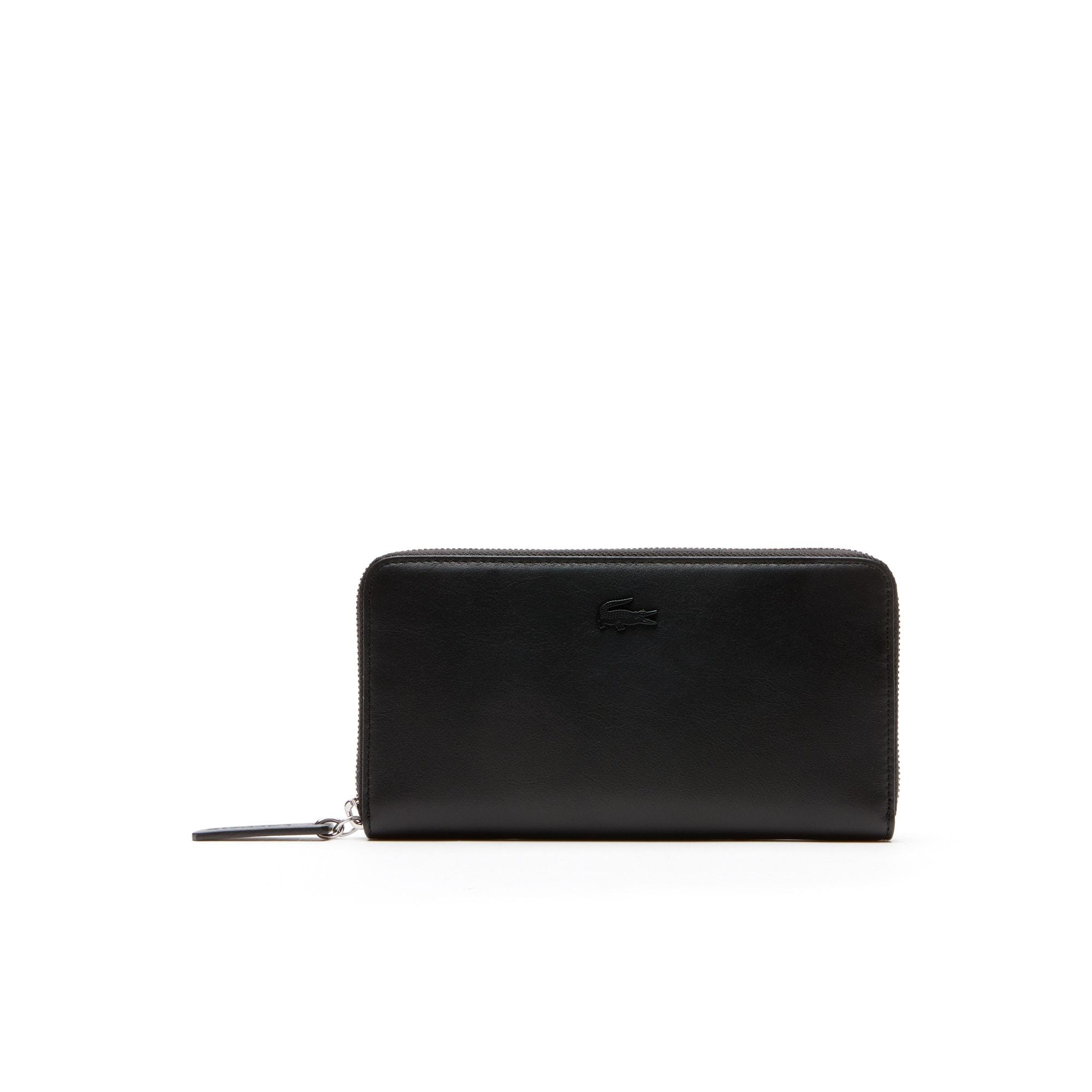 Women's L.12.12 Leather 8 Card Zip Wallet
