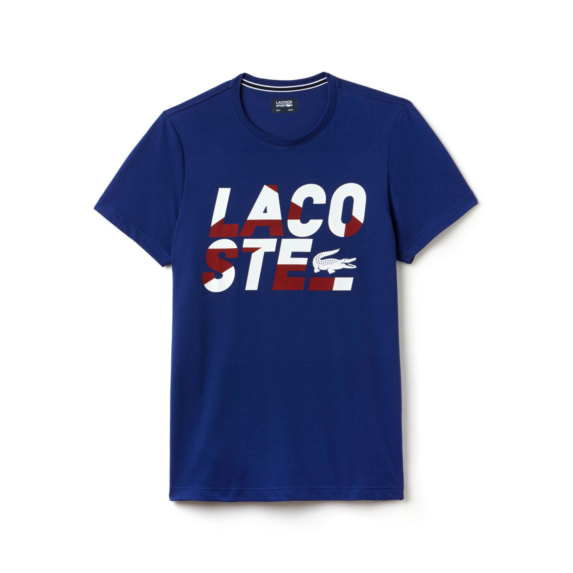 Men's Lacoste SPORT Tennis Lettering Technical Jersey T-shirt