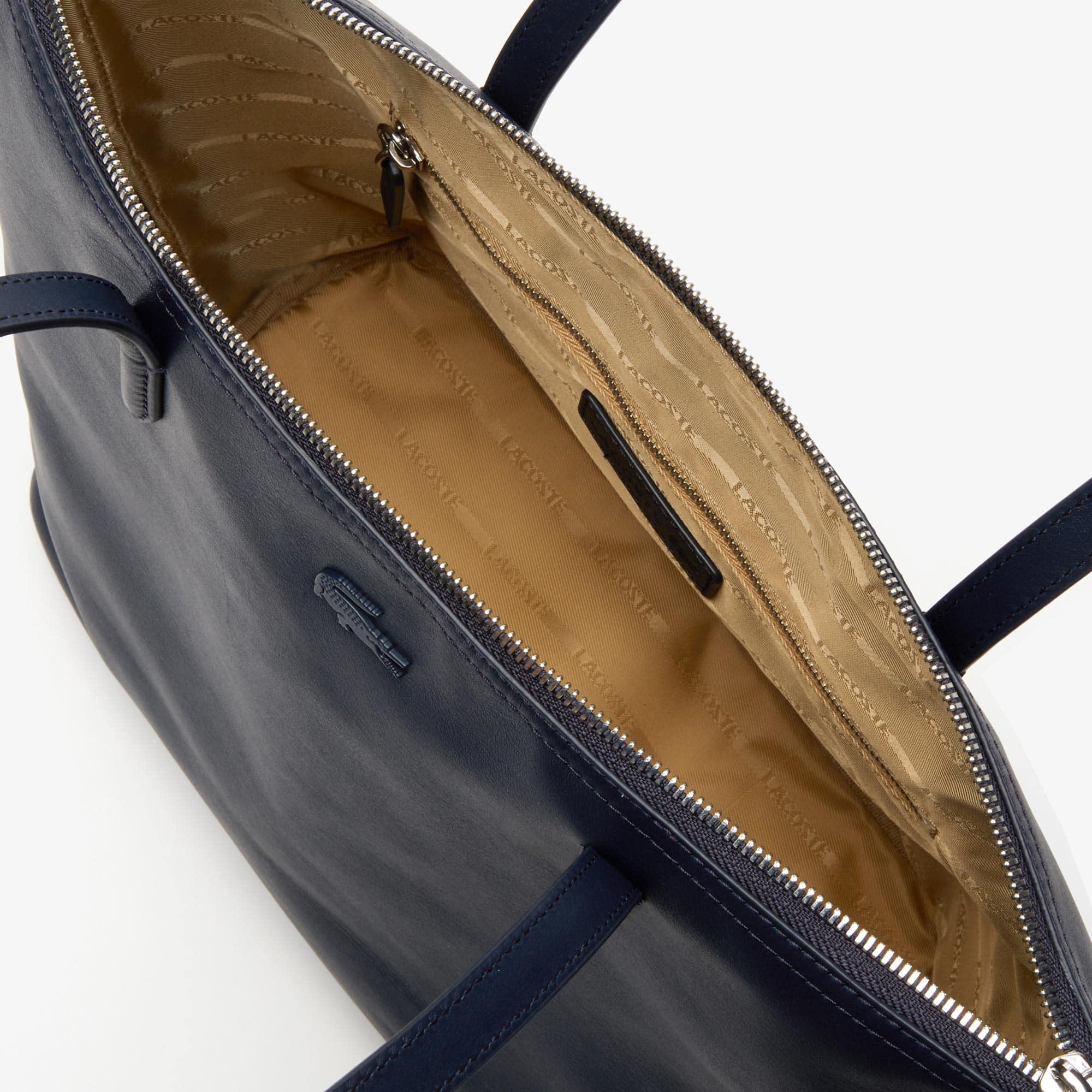 b658716db6 Women's L.12.12 Small Leather Zip Tote Bag