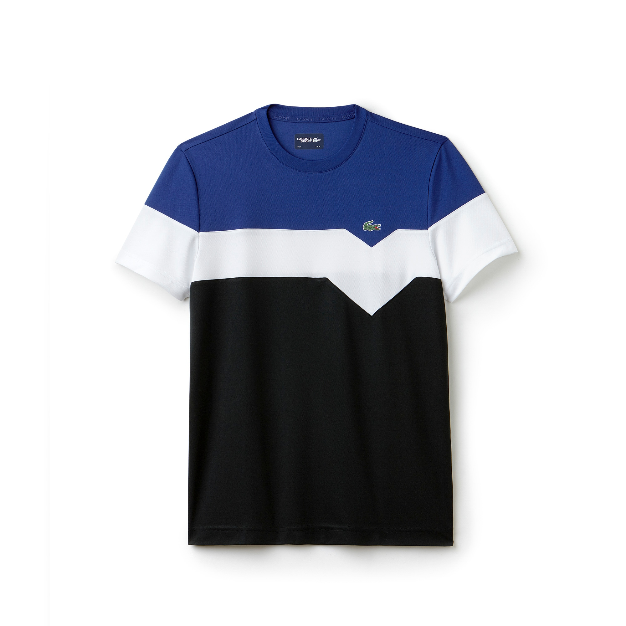 Men's Lacoste SPORT Tennis Colorblock Technical Piqué T-shirt