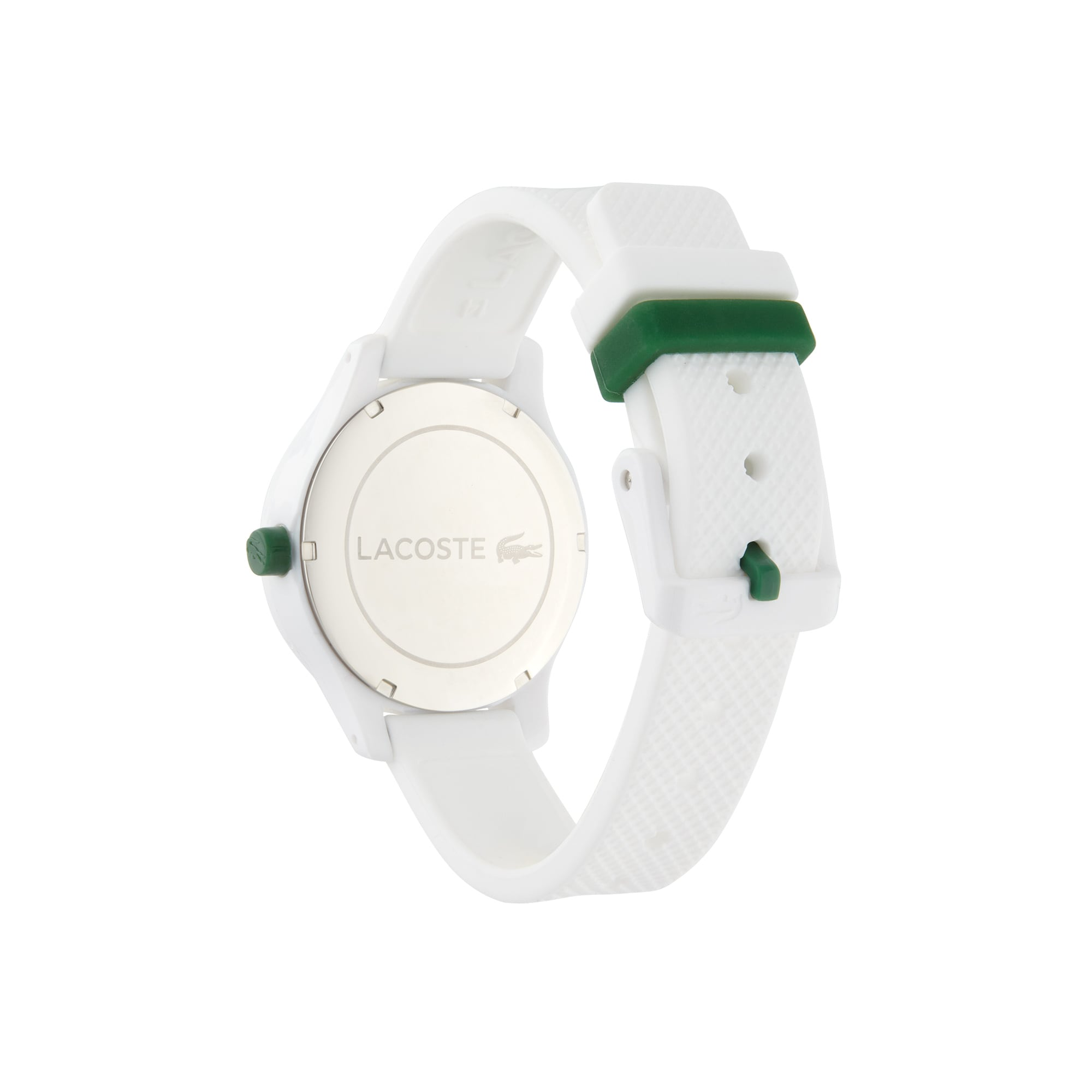 Kids Lacoste 12.12 Watch with White Silicone Strap