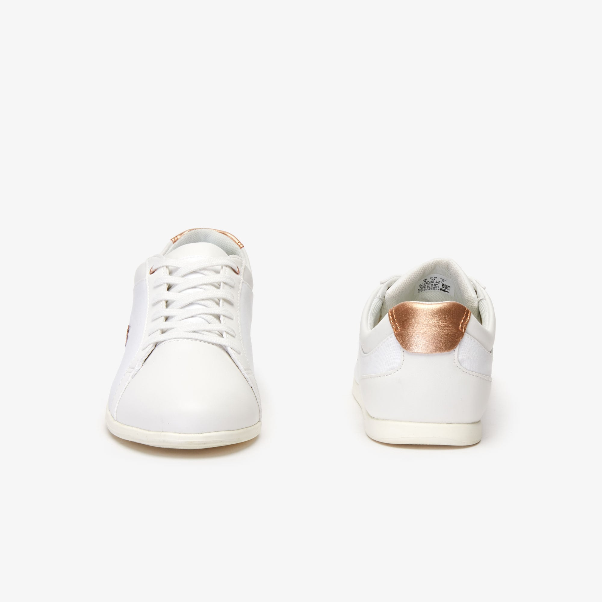 a765edf778 Women's Rey Lace Textile and Leather Trainers