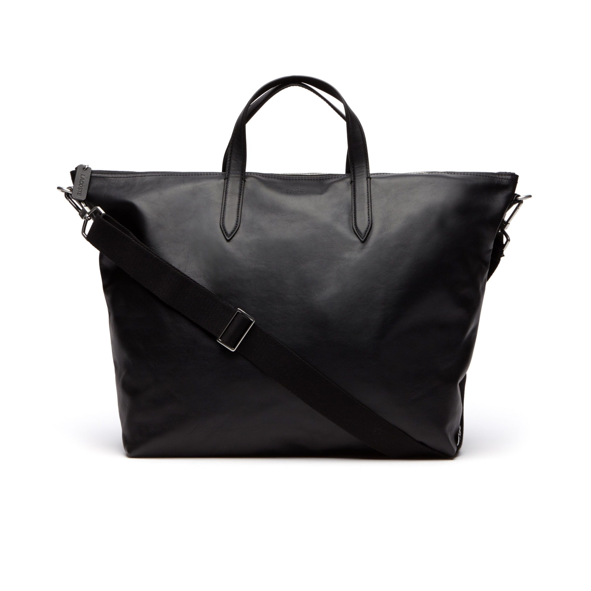Men's L.12.12 Limited Edition 85th Anniversary Leather Weekend Bag