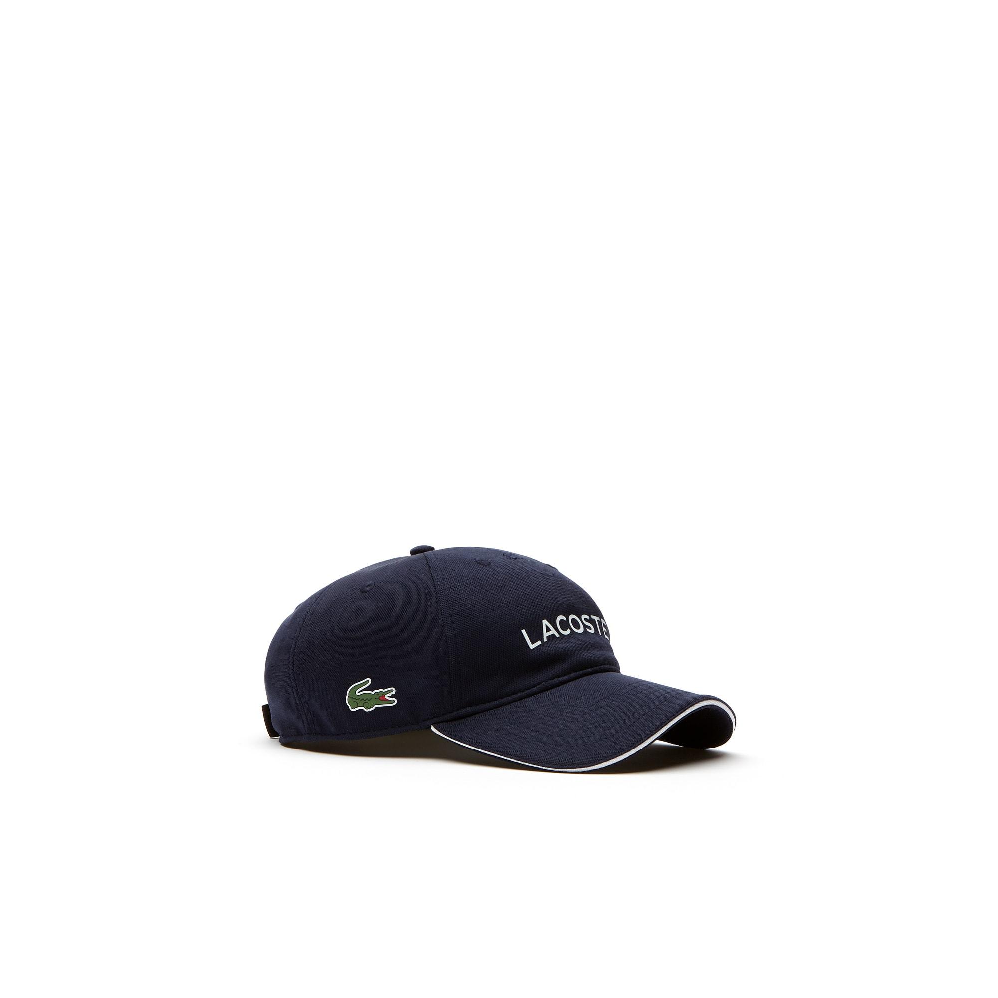 Men's Lacoste SPORT Golf Wording Tech Piqué Cap