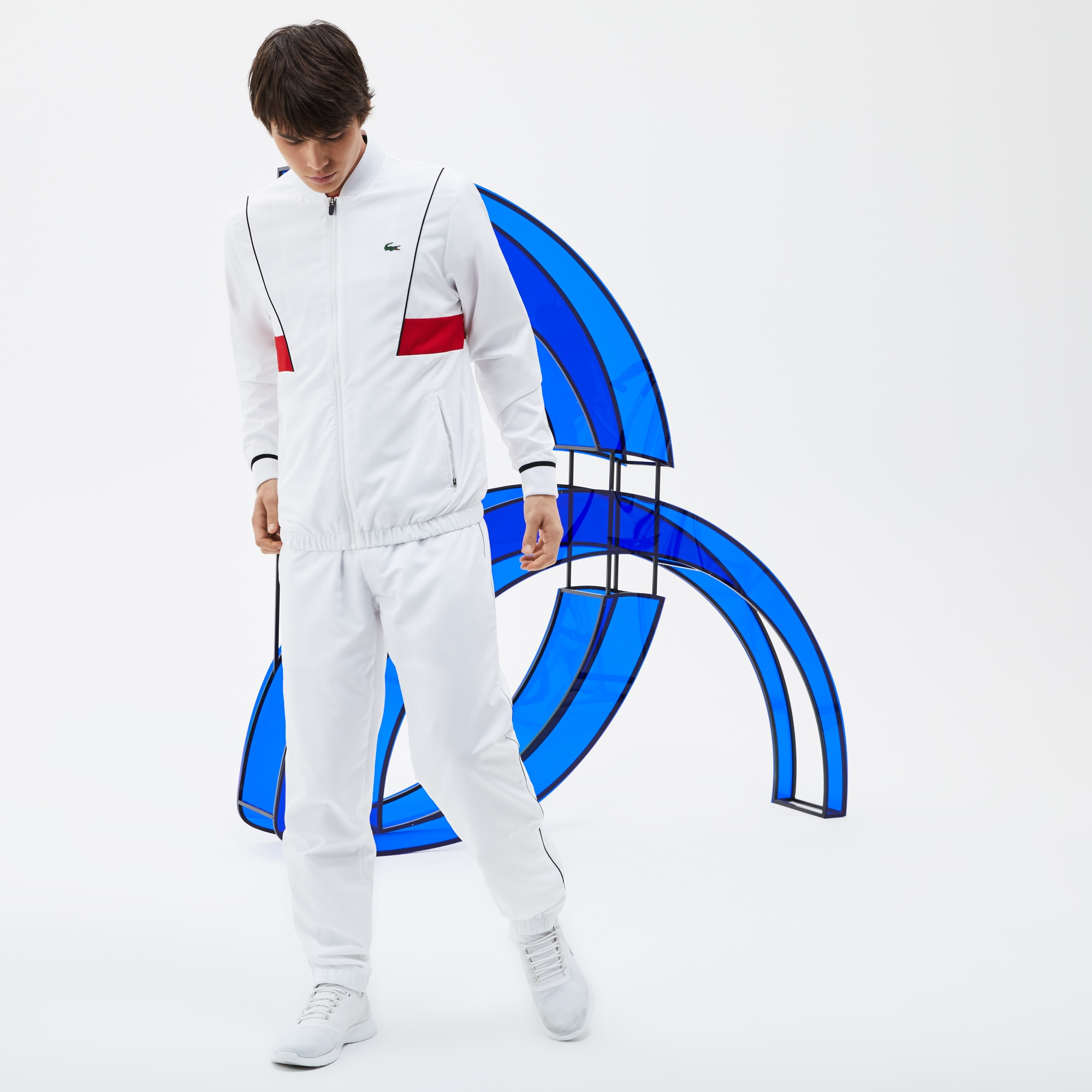 Men's LACOSTE SPORT NOVAK DJOKOVIC COLLECTION Taffeta Tracksuit