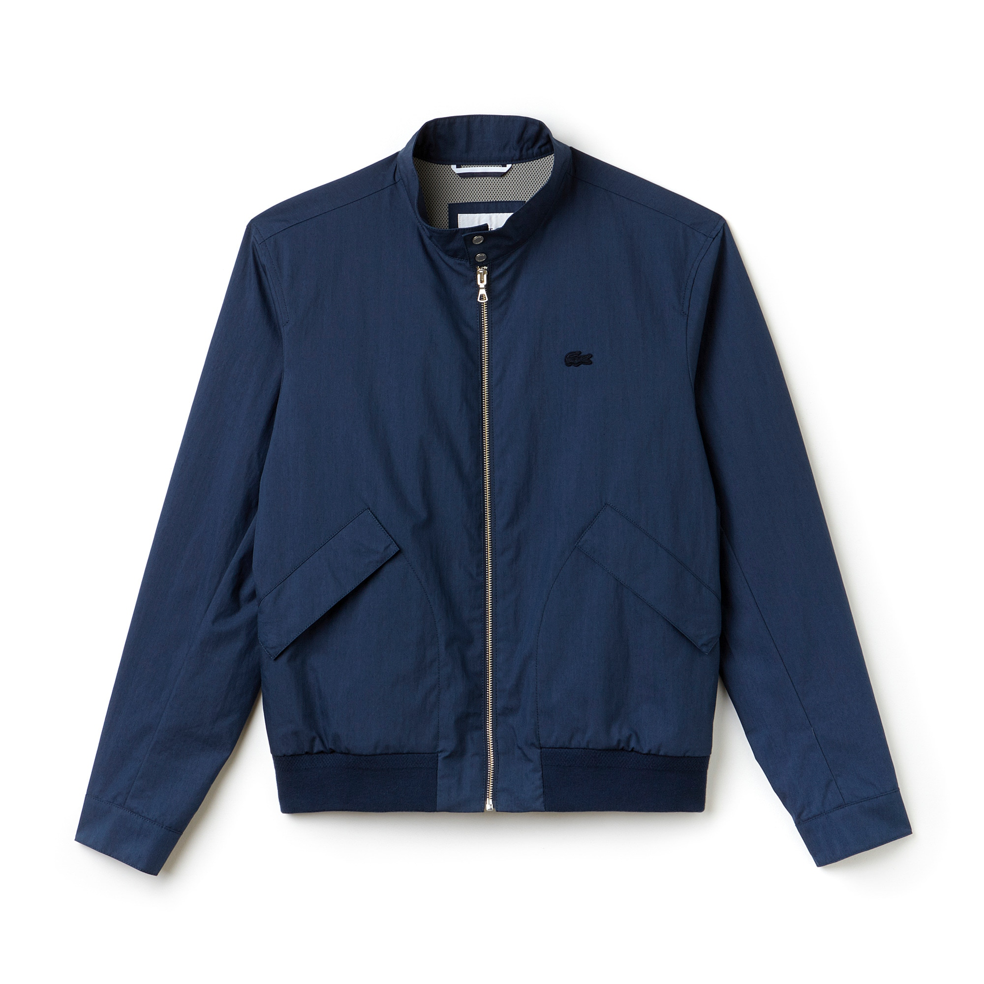 Men's Cotton Blend Gabardine Harrington Jacket