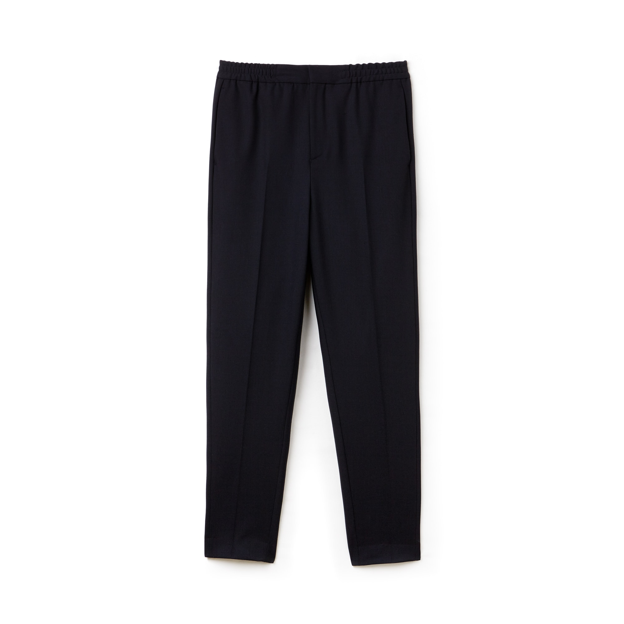 Men's Lacoste Motion Pleated Stretch Wool Twill Chino Pants