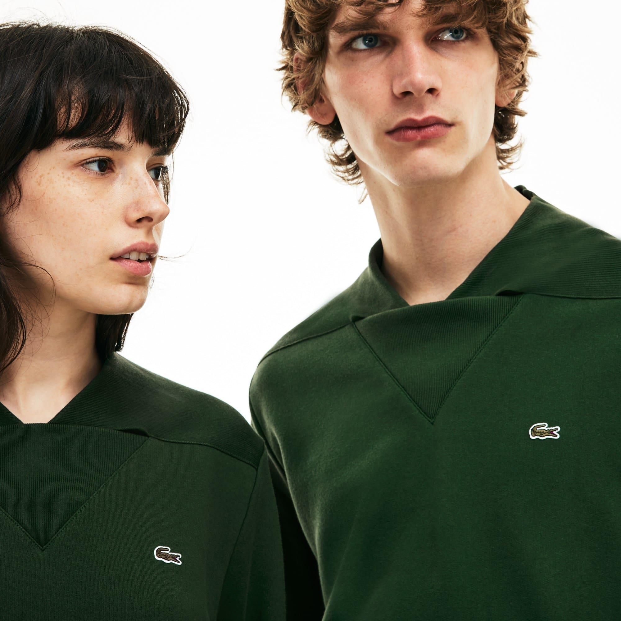 Unisex 1950s Revival 85th Anniversary Limited Edition V-neck Fleece Sweatshirt
