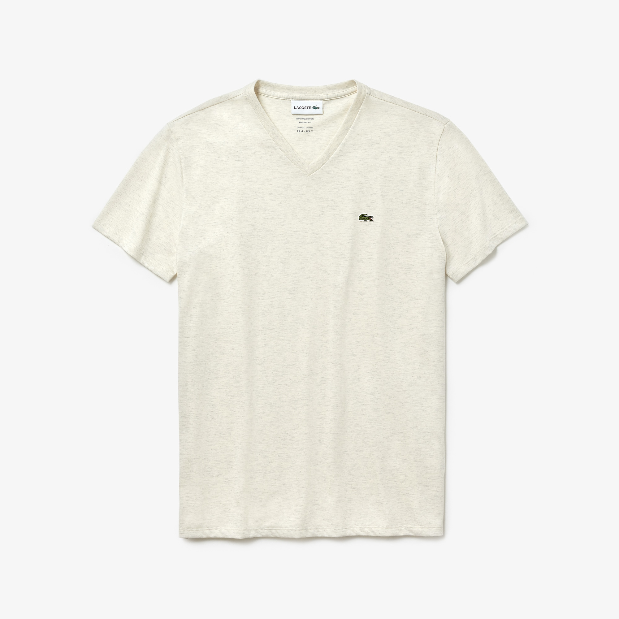 Men's V-neck Pima Cotton Jersey T-shirt