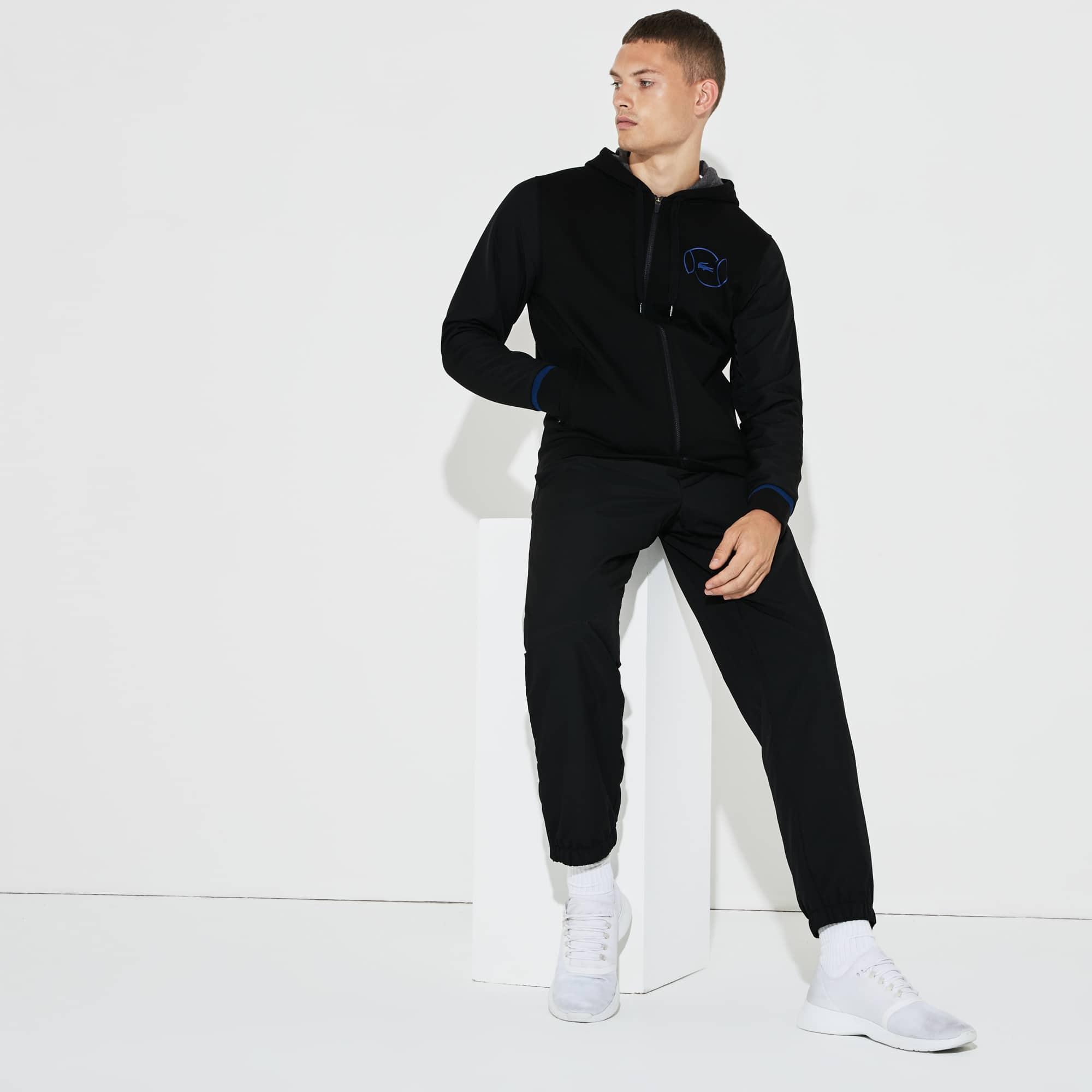 Men's Lacoste SPORT Fleece And Taffeta Tennis Tracksuit